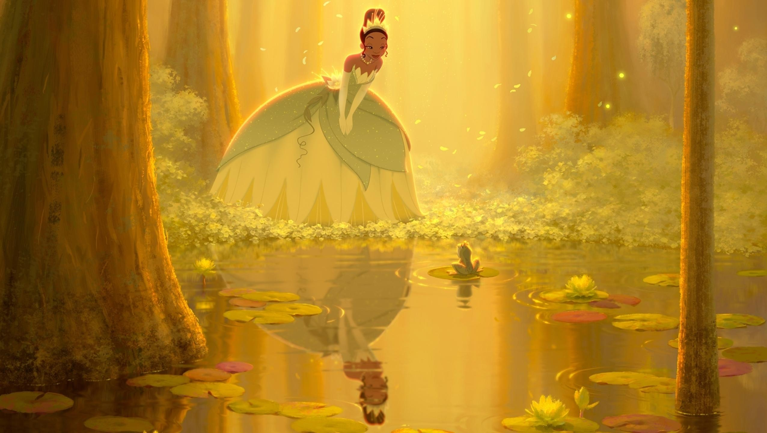 "Wallpaper for ""The Princess and the Frog"" (2009)"