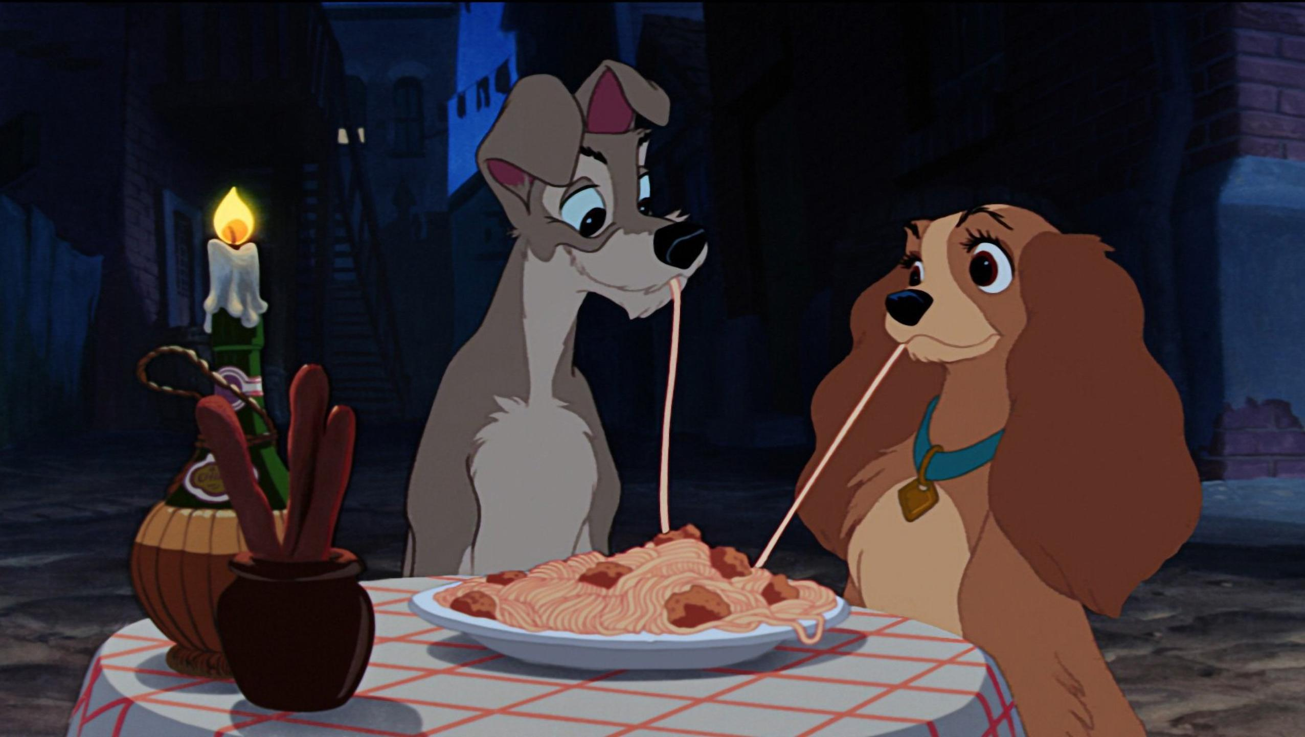 "Wallpaper for ""Lady and the Tramp"" (1955)"