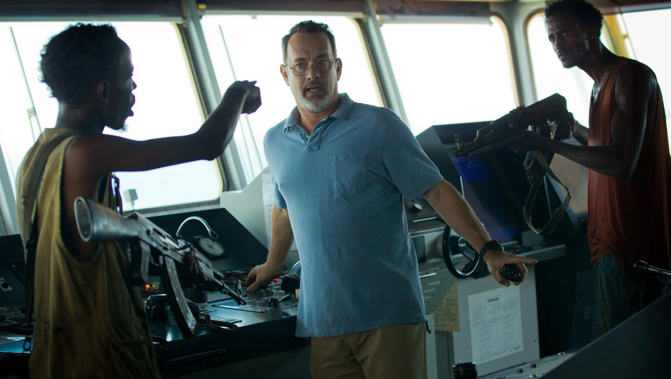 "Wallpaper for ""Captain Phillips"" (2013)"