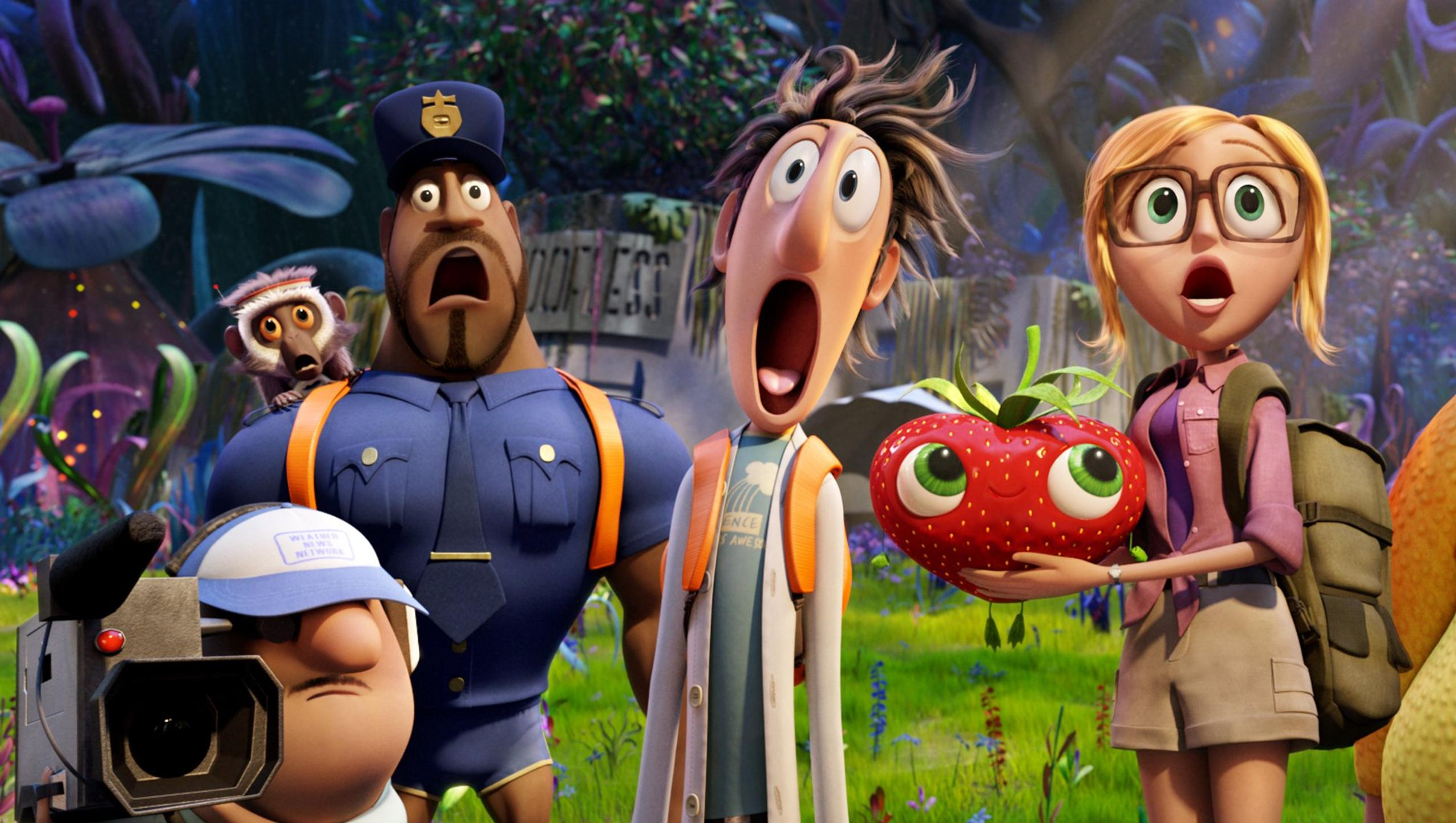 "Wallpaper for ""Cloudy with a Chance of Meatballs 2"" (2013)"