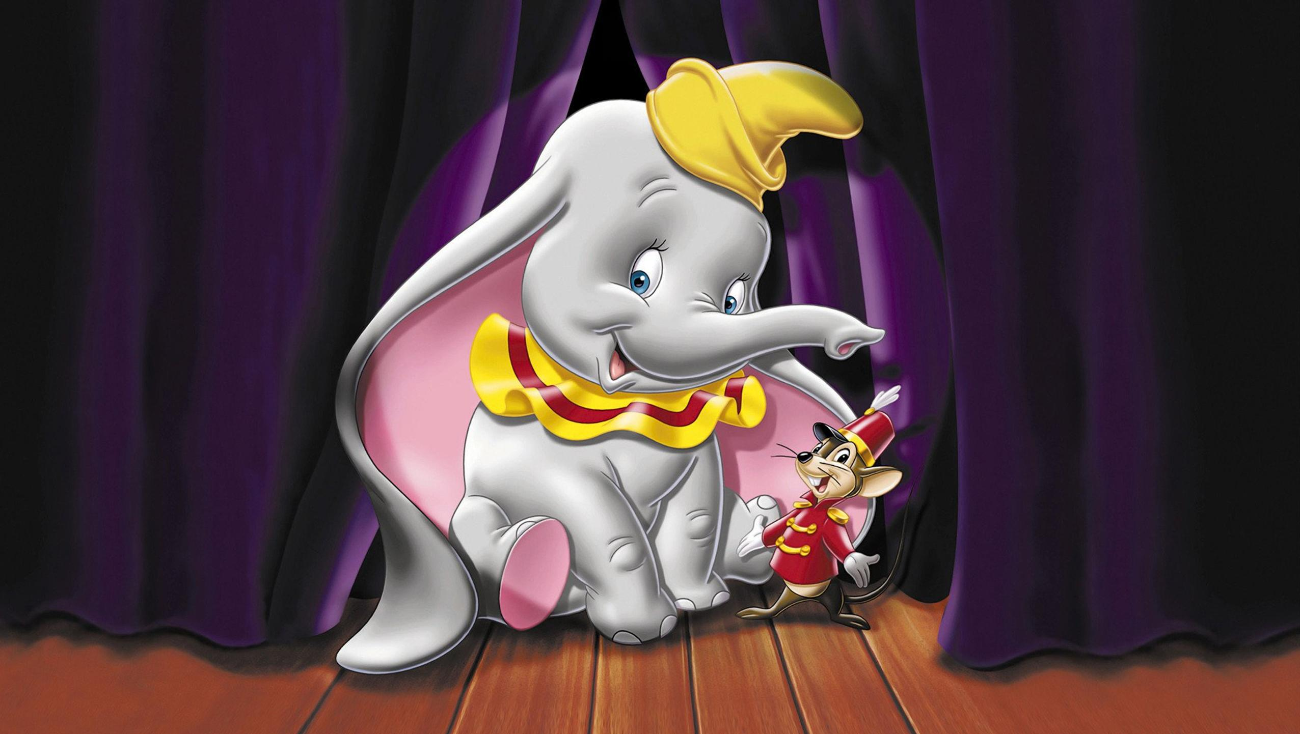 "Wallpaper for ""Dumbo"" (1941)"
