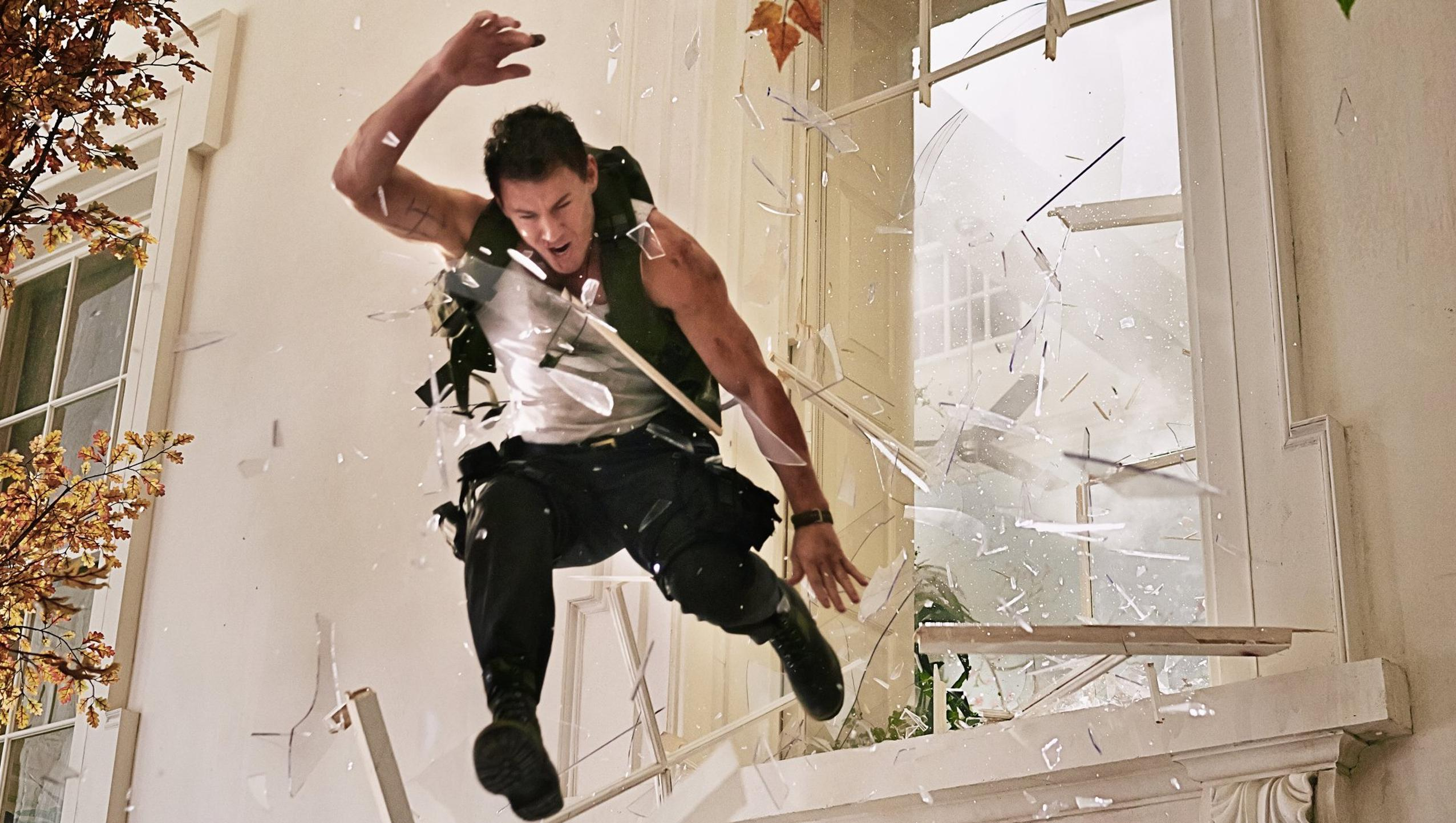"Wallpaper for ""White House Down"" (2013)"