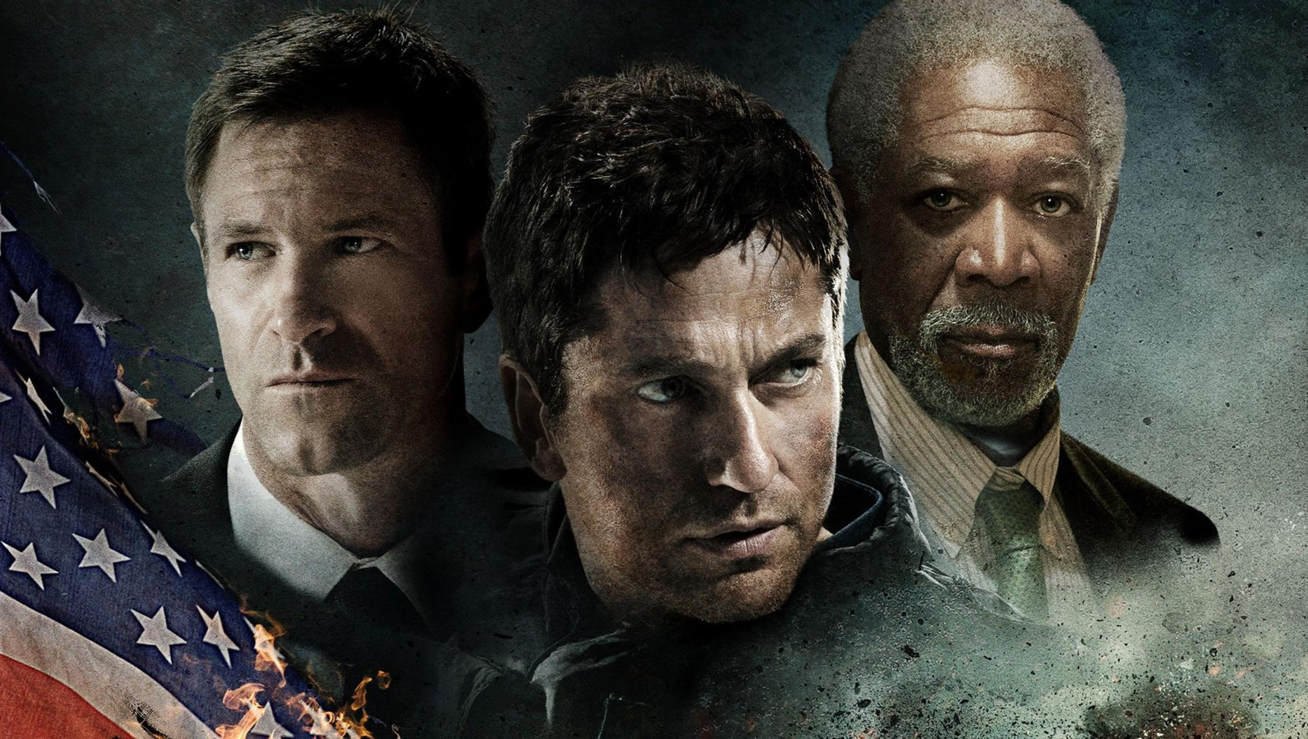 "Wallpaper for ""Olympus Has Fallen"" (2013)"