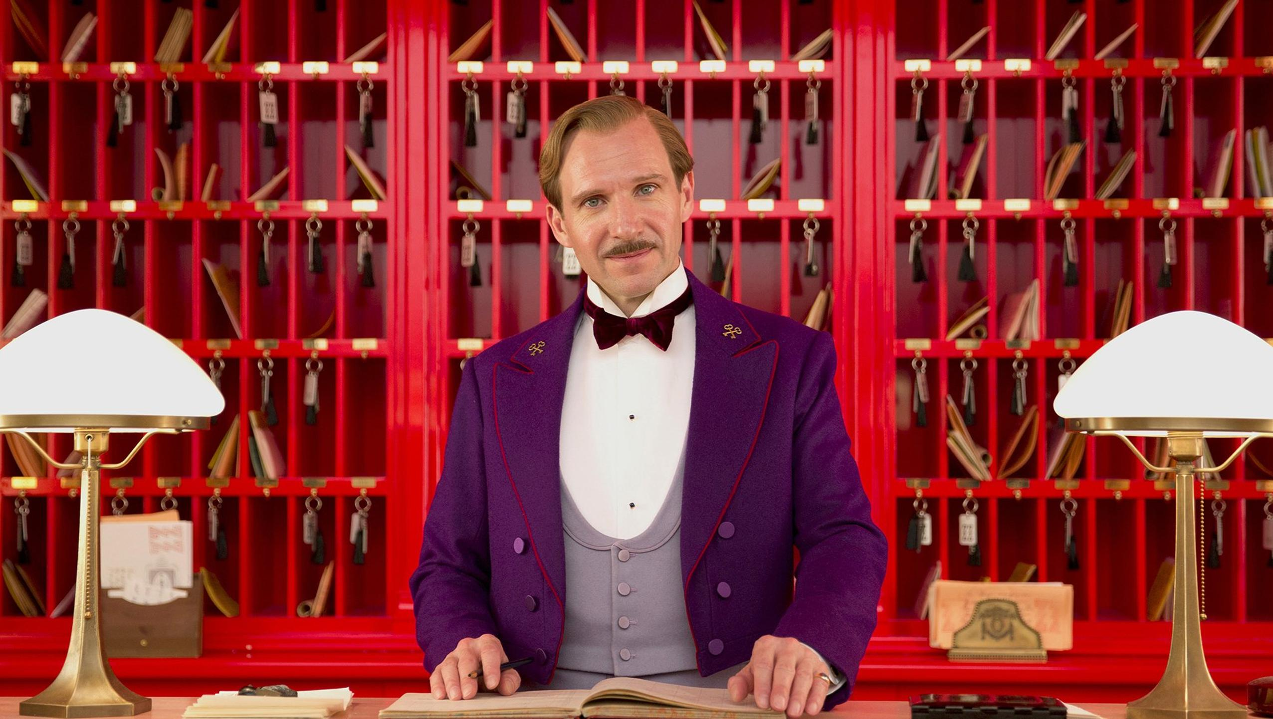 "Wallpaper for ""The Grand Budapest Hotel"" (2014)"