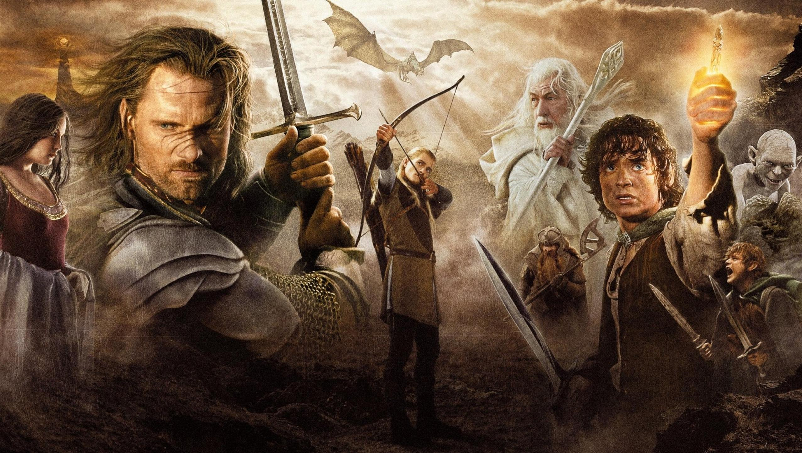 "Wallpaper for ""The Lord of the Rings: The Return of the King"" (2003)"