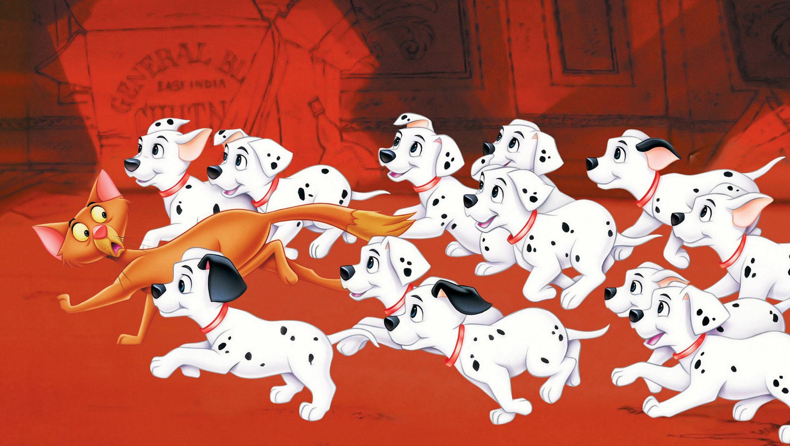 One Hundred And One Dalmatians 1961 Desktop Wallpaper Moviemania