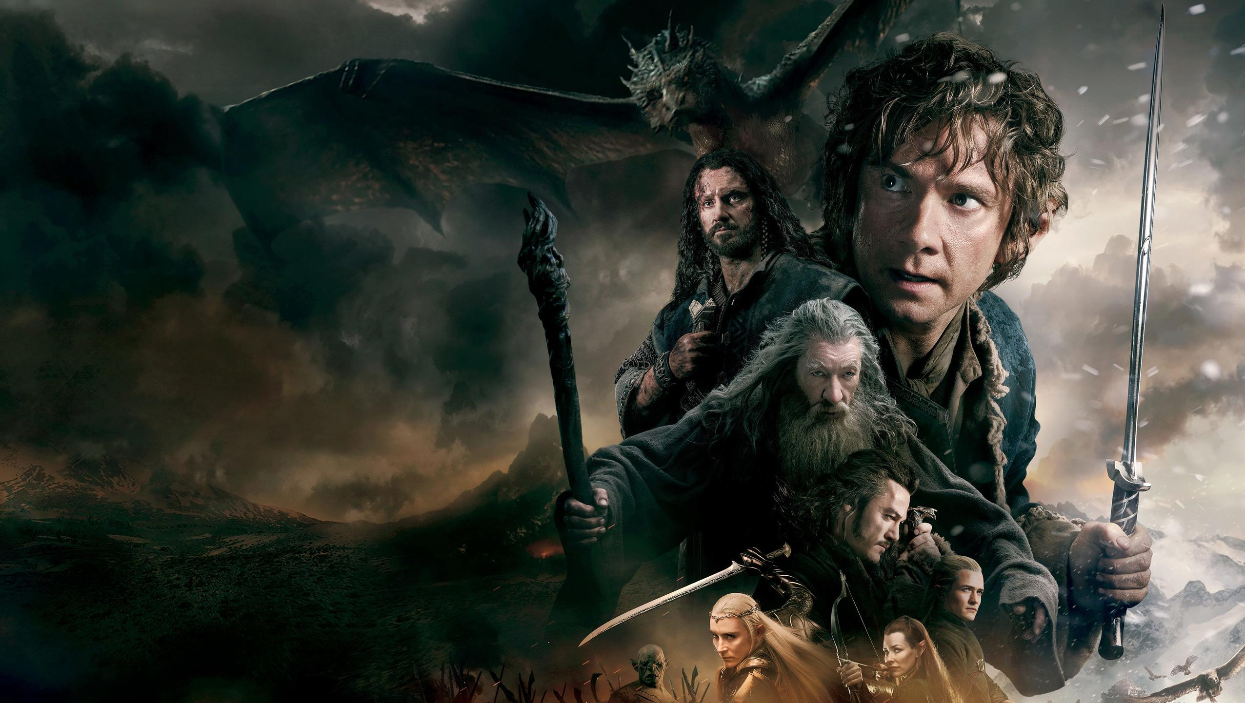 "Wallpaper for ""The Hobbit: The Battle of the Five Armies"" (2014)"
