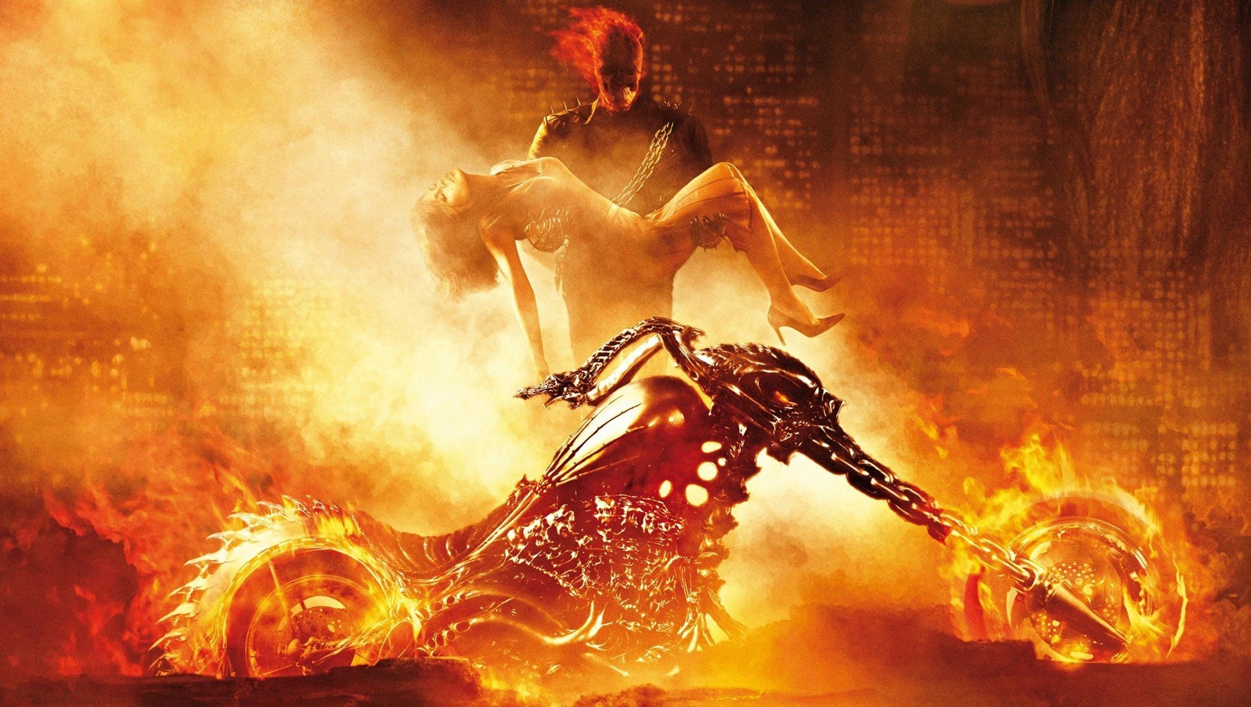 "Wallpaper for ""Ghost Rider"" (2007)"