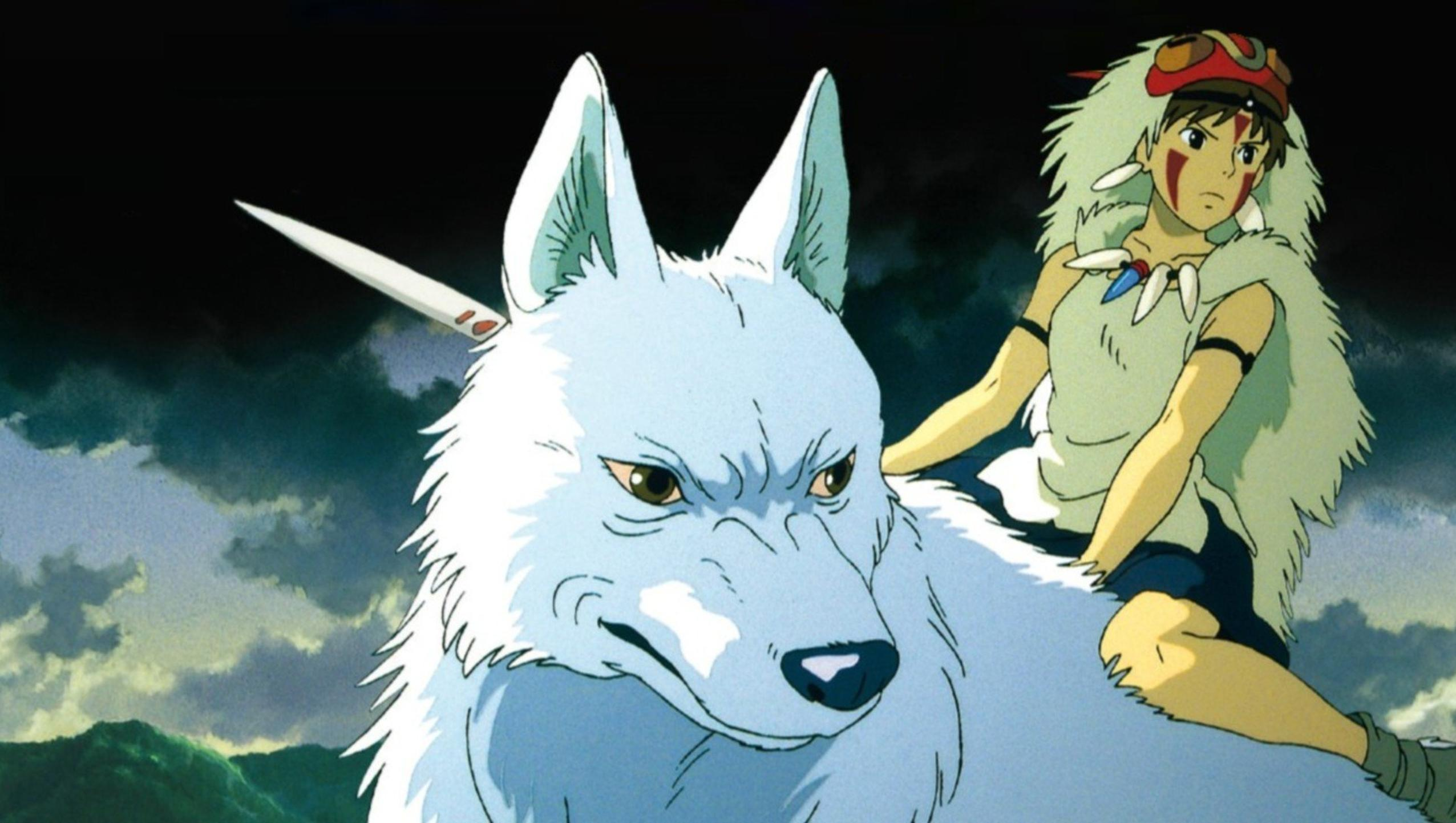 "Wallpaper for ""Princess Mononoke"" (1997)"
