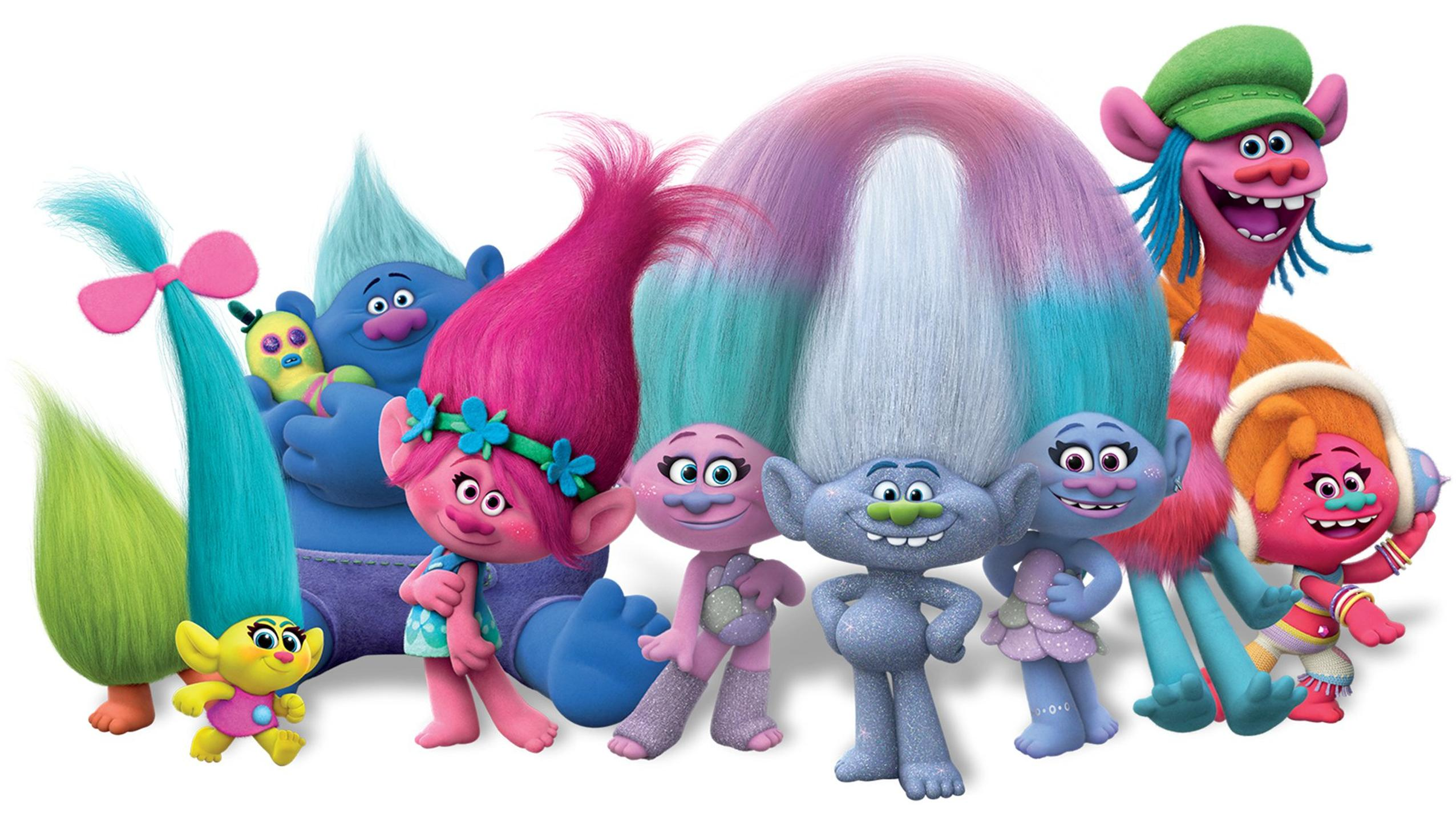 Trolls 2016 Desktop Wallpaper Moviemania