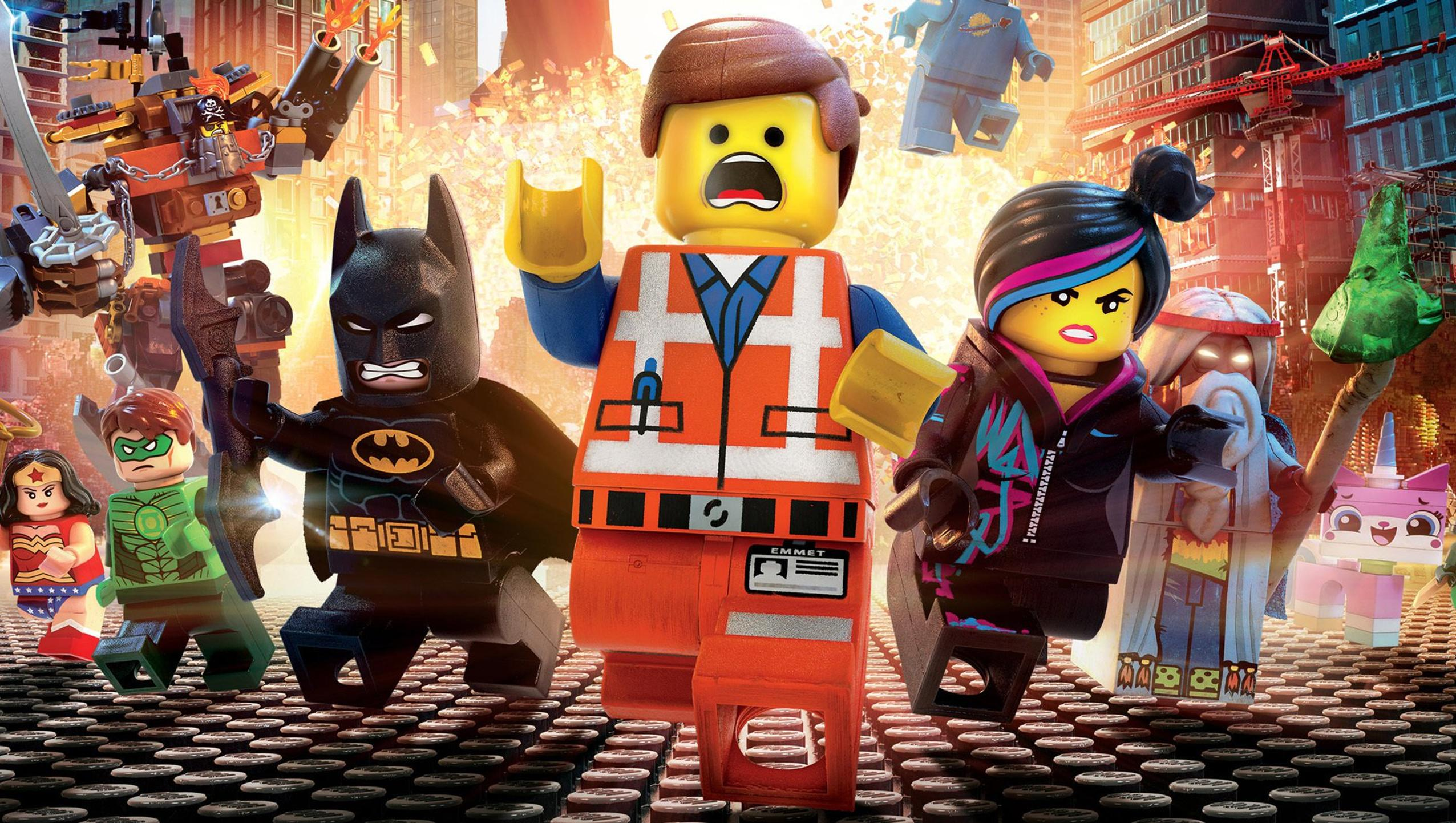 "Wallpaper for ""The Lego Movie"" (2014)"