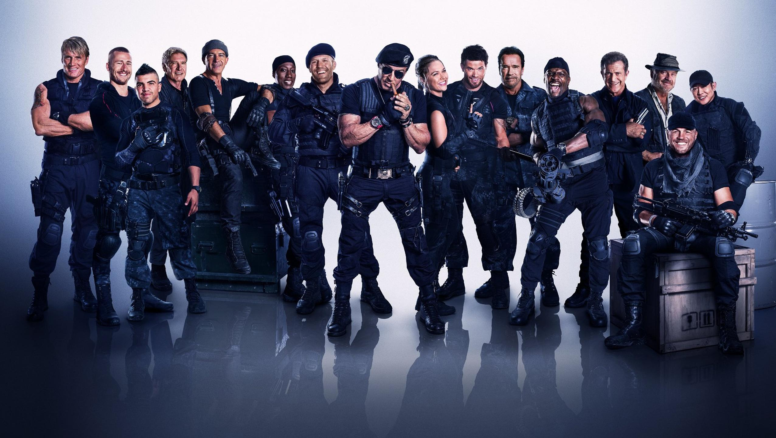 "Wallpaper for ""The Expendables 3"" (2014)"