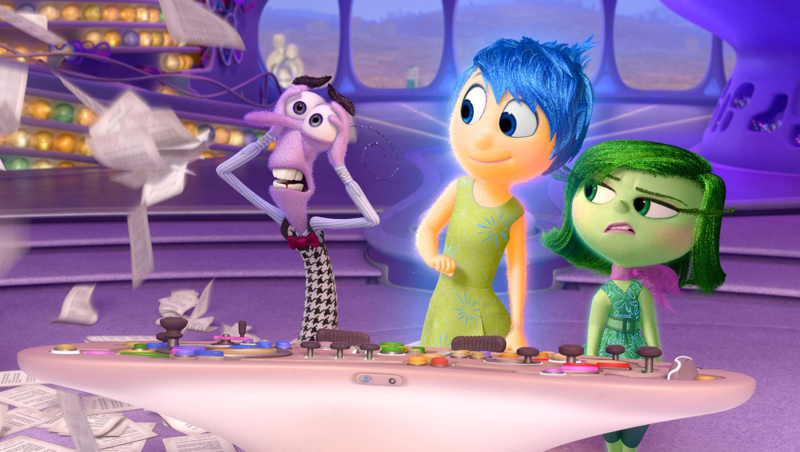 "Wallpaper for ""Inside Out"" (2015)"