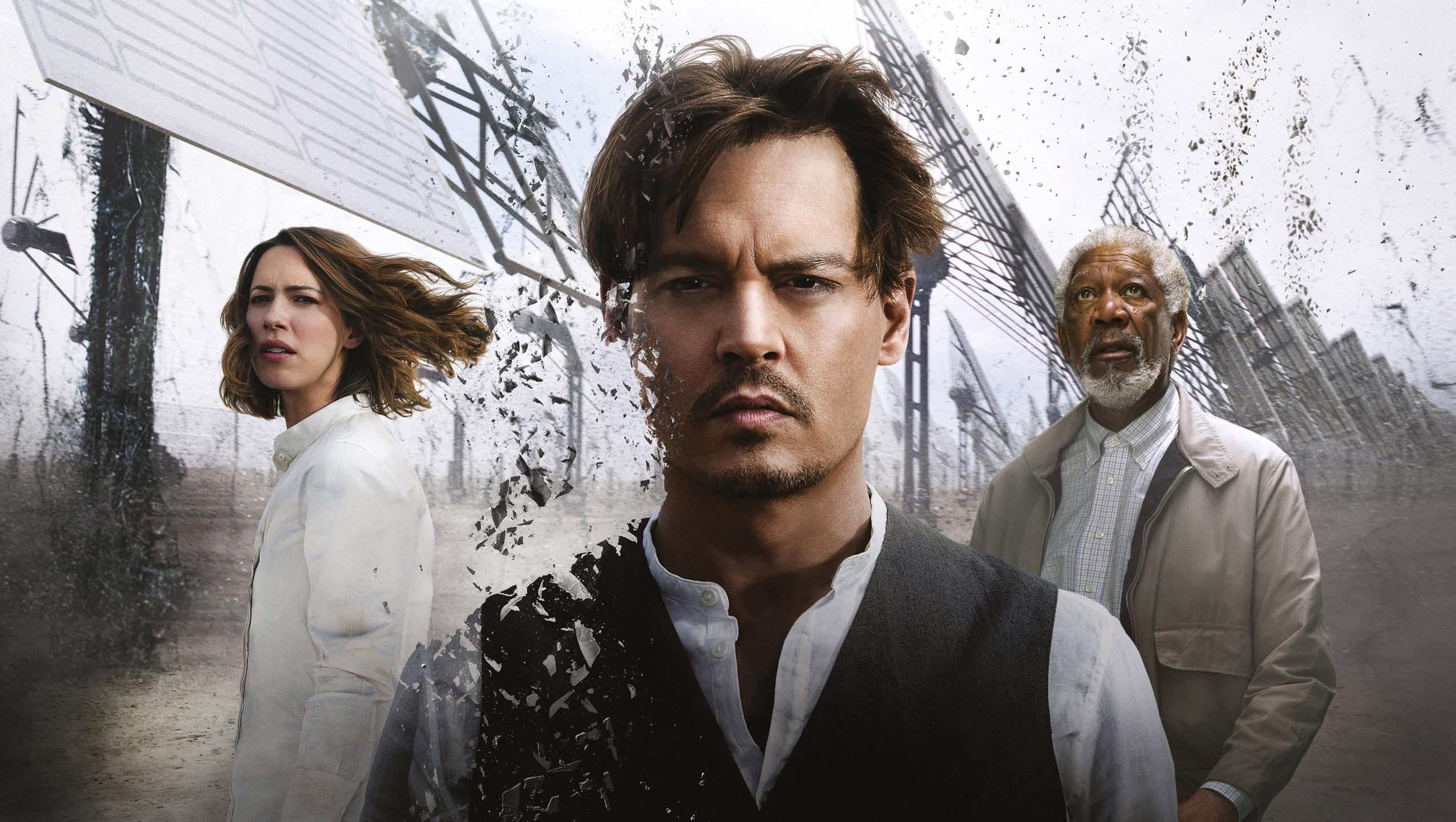 "Wallpaper for ""Transcendence"" (2014)"