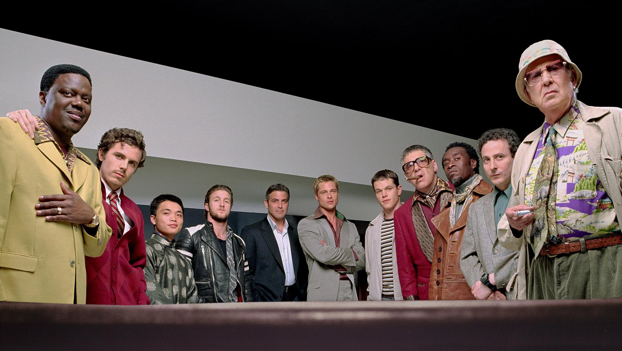 "Wallpaper for ""Ocean's Eleven"" (2001)"