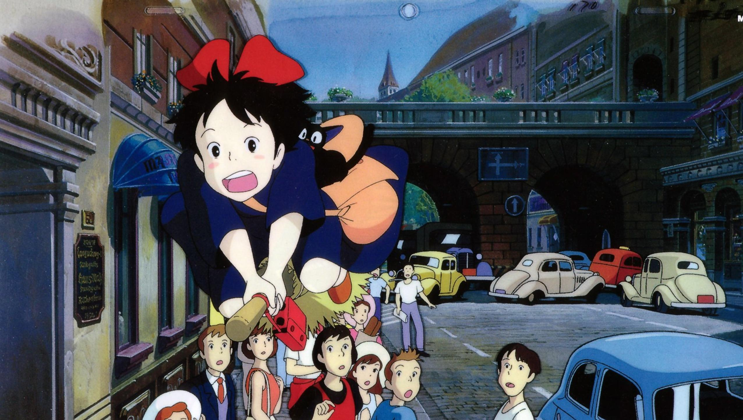 "Wallpaper for ""Kiki's Delivery Service"" (1989)"