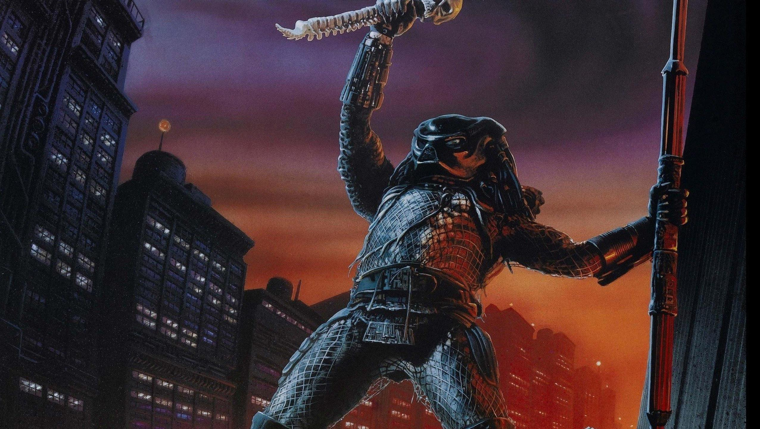 "Wallpaper for ""Predator 2"" (1990)"