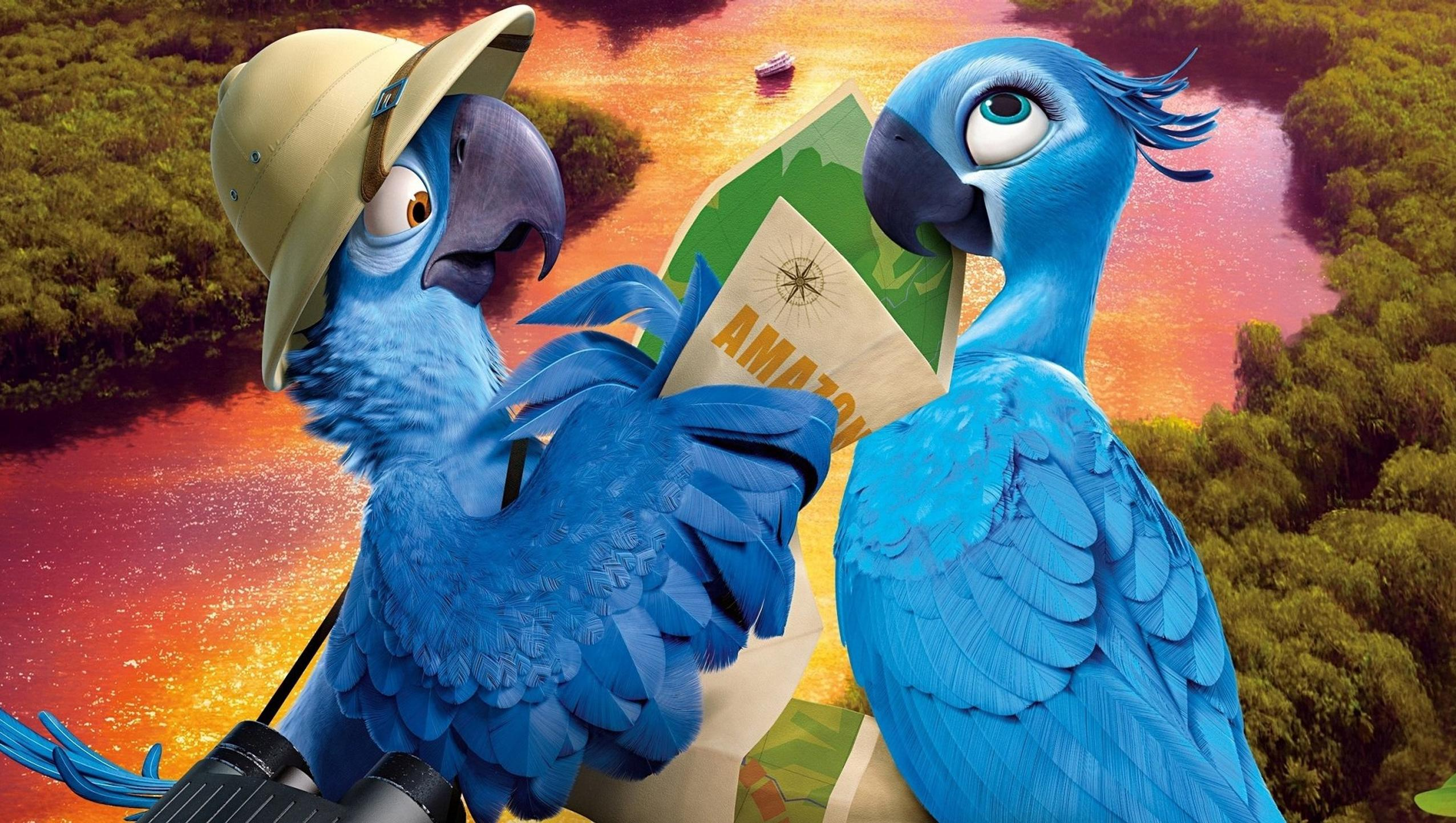 "Wallpaper for ""Rio 2"" (2014)"