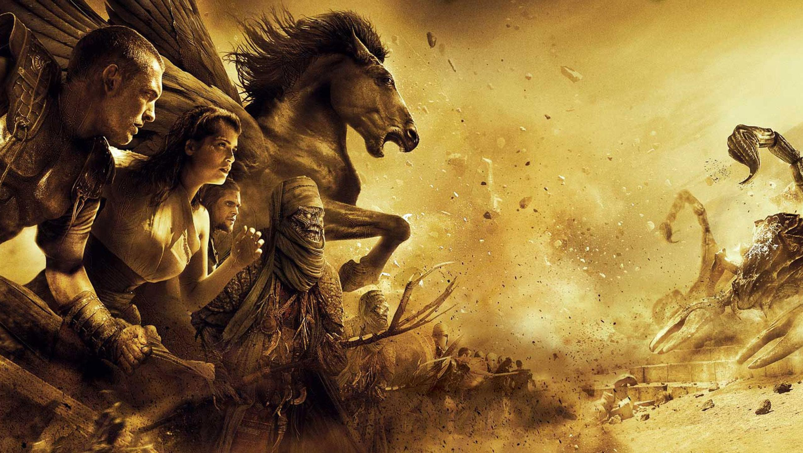 "Wallpaper for ""Clash of the Titans"" (2010)"