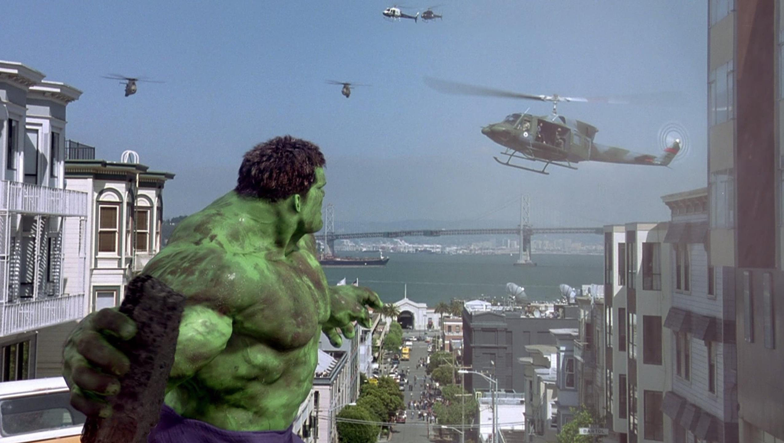 "Wallpaper for ""Hulk"" (2003)"