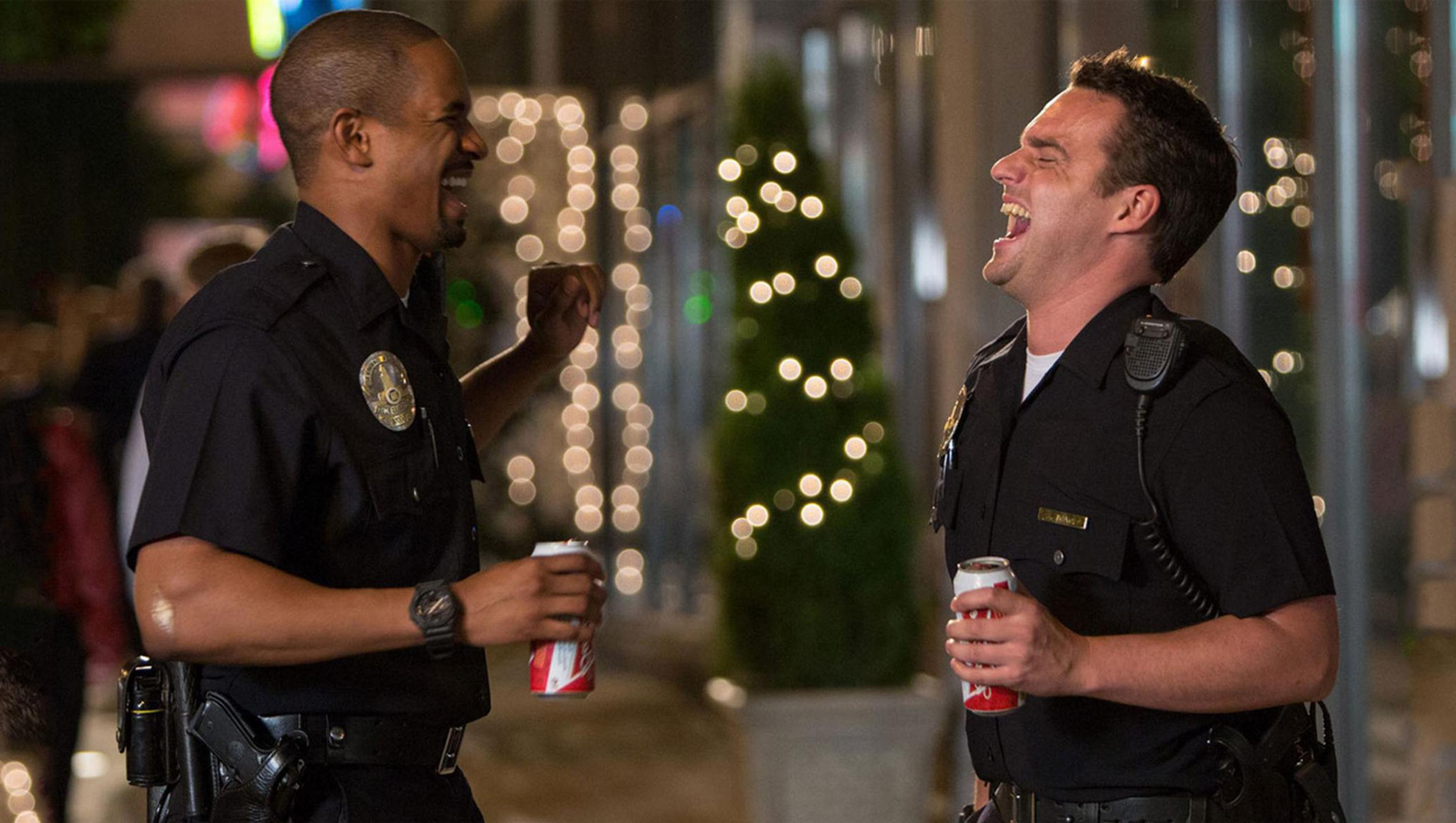 "Wallpaper for ""Let's Be Cops"" (2014)"