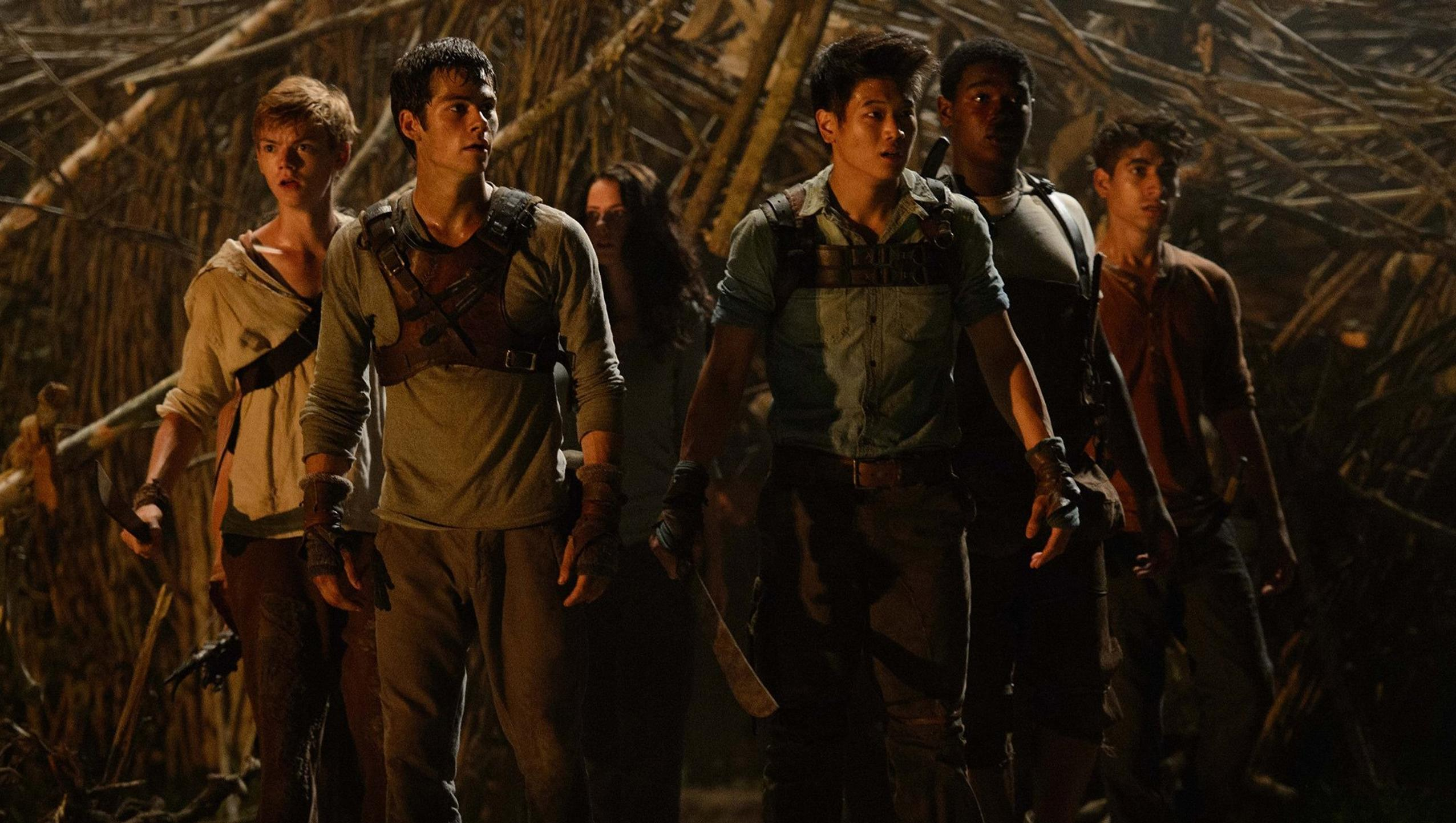 "Wallpaper for ""The Maze Runner"" (2014)"