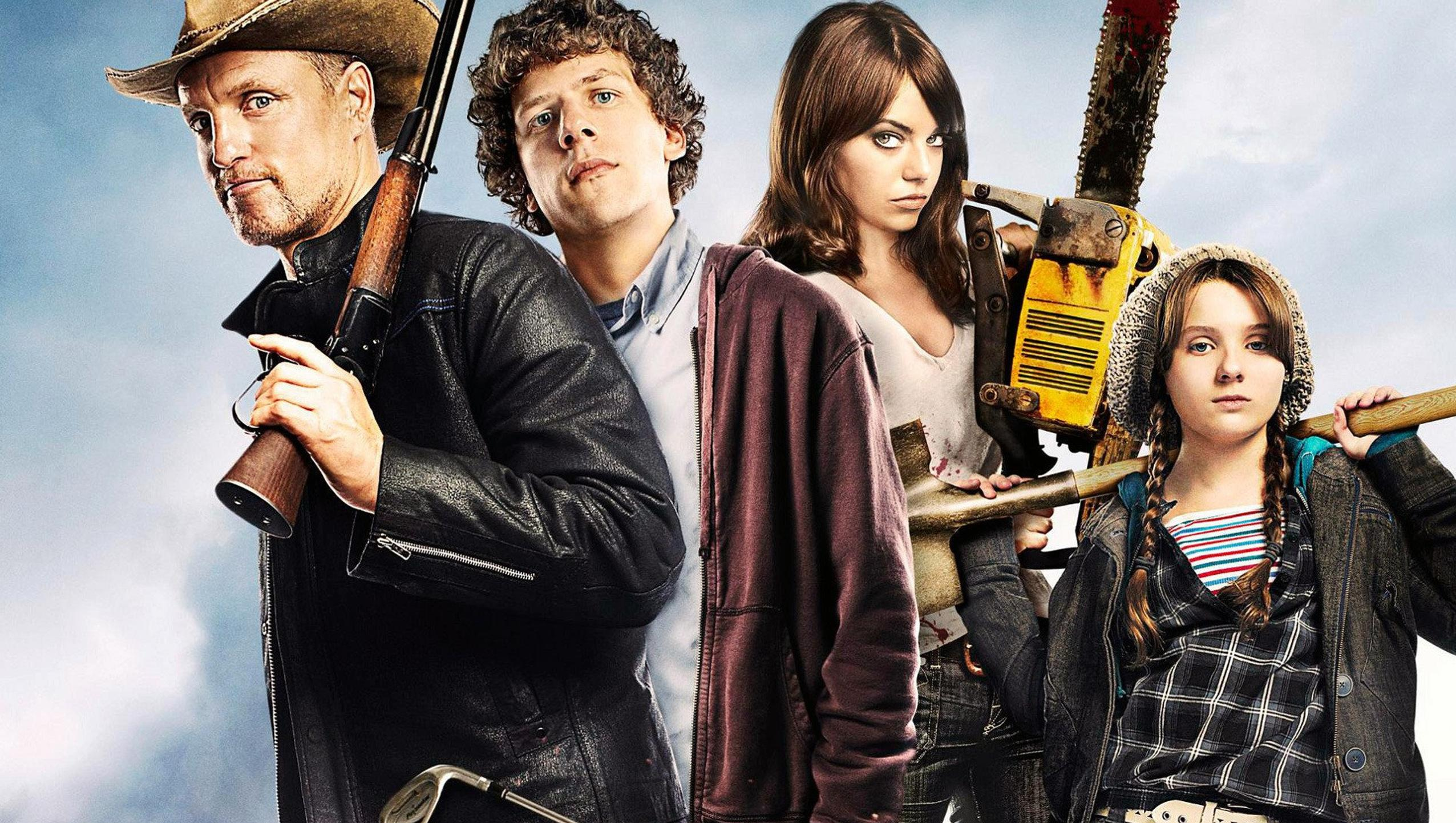 "Wallpaper for ""Zombieland"" (2009)"