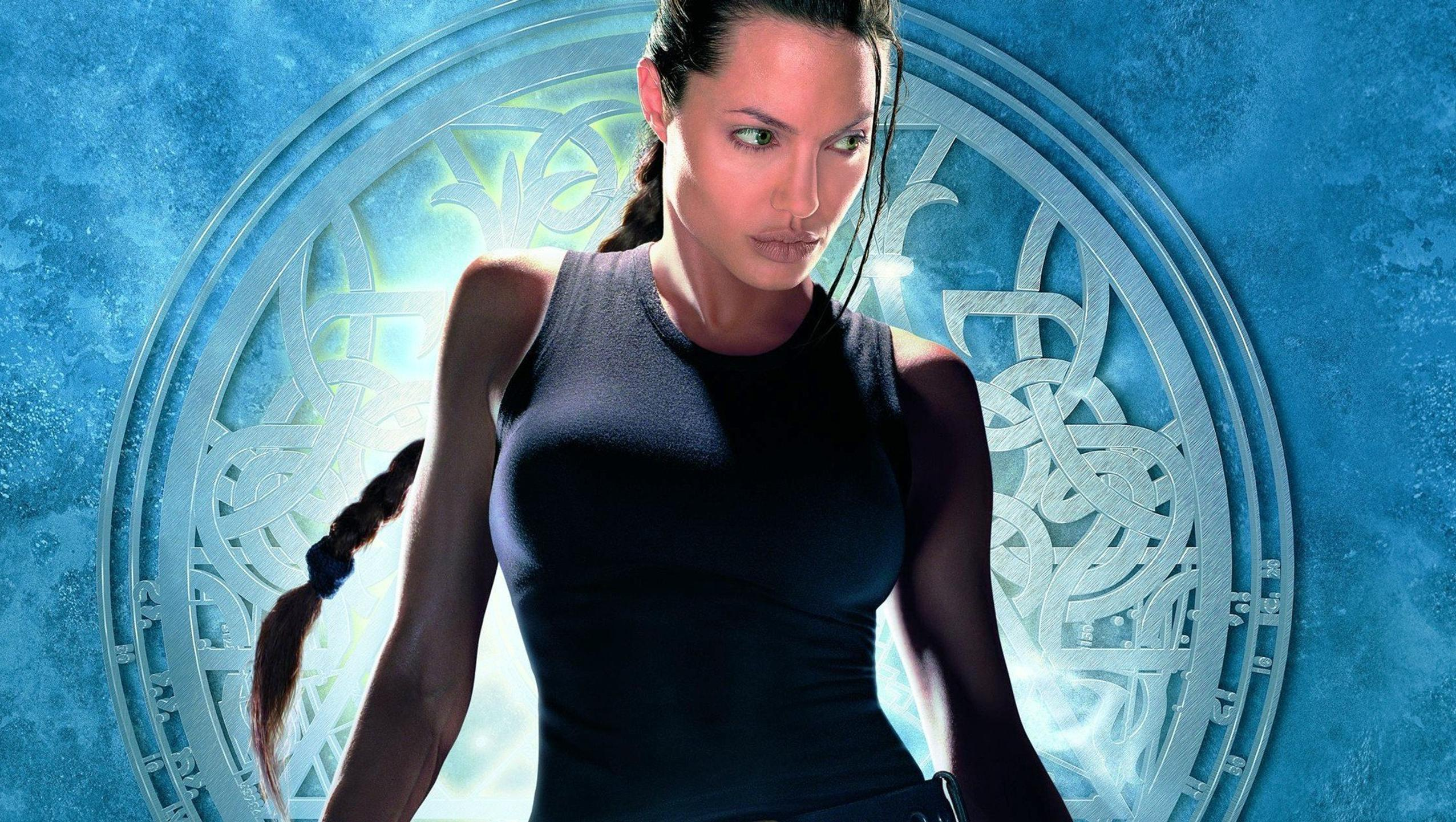 "Wallpaper for ""Lara Croft: Tomb Raider"" (2001)"