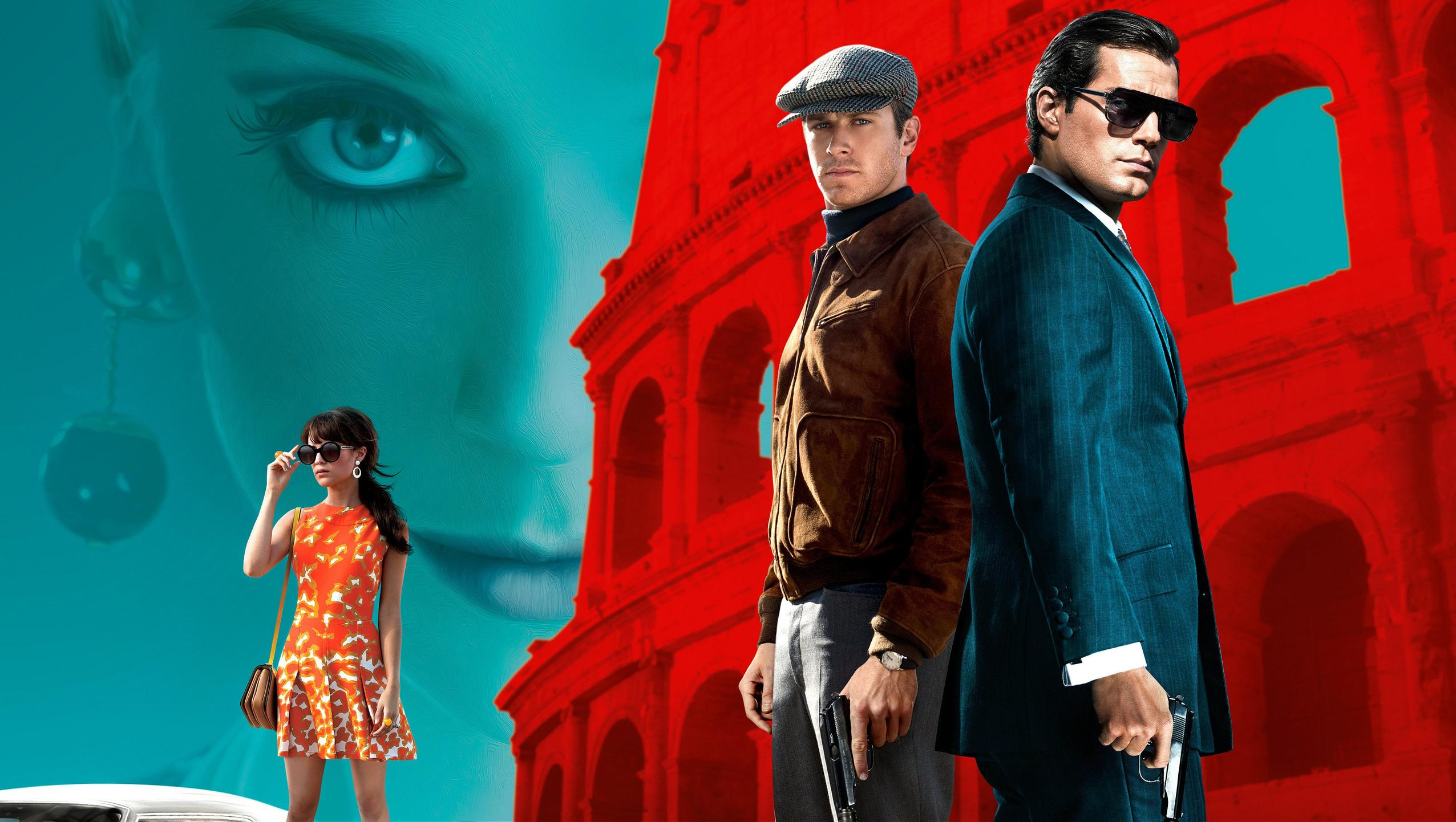 "Wallpaper for ""The Man from U.N.C.L.E."" (2015)"