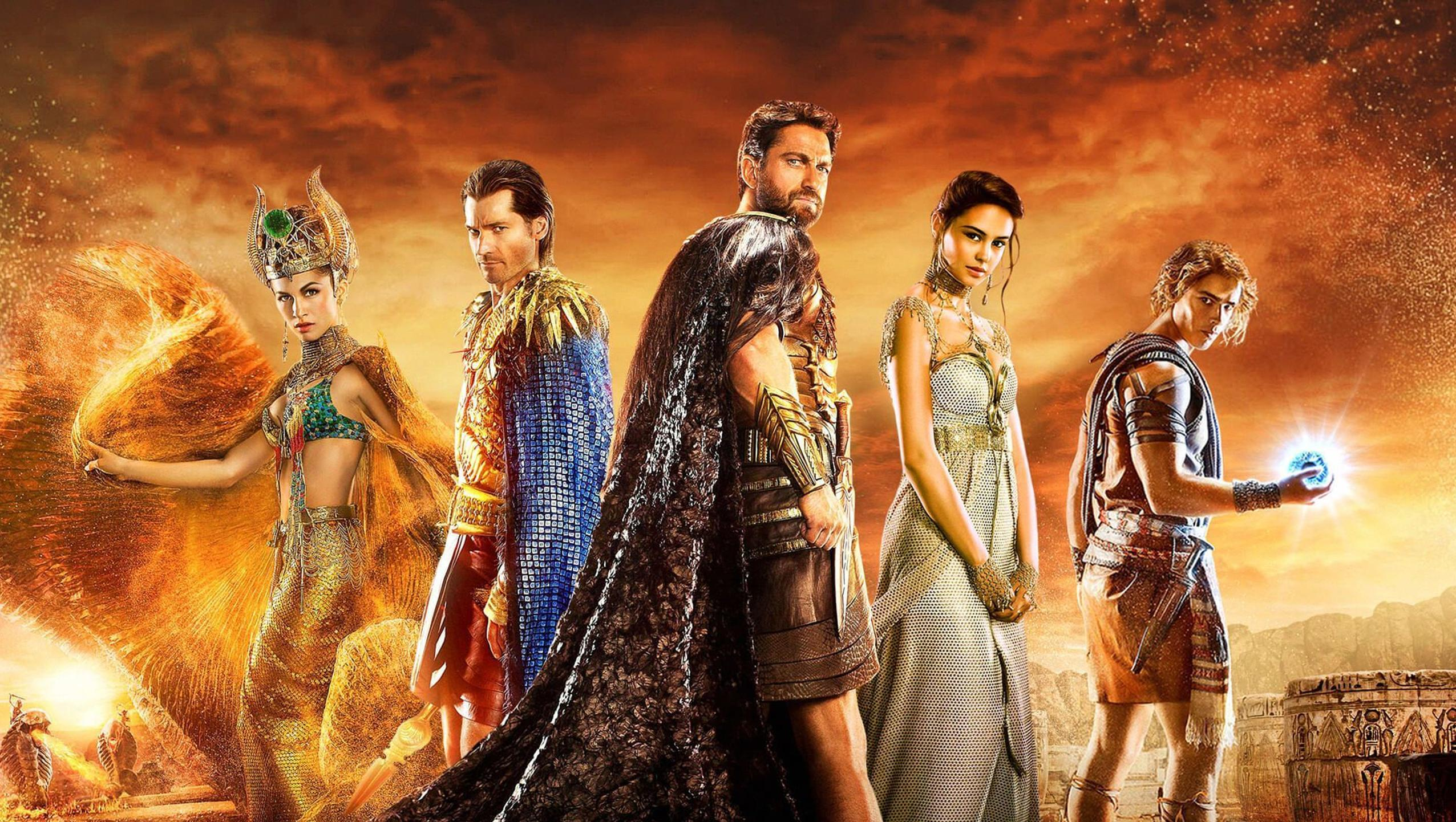 "Wallpaper for ""Gods of Egypt"" (2016)"