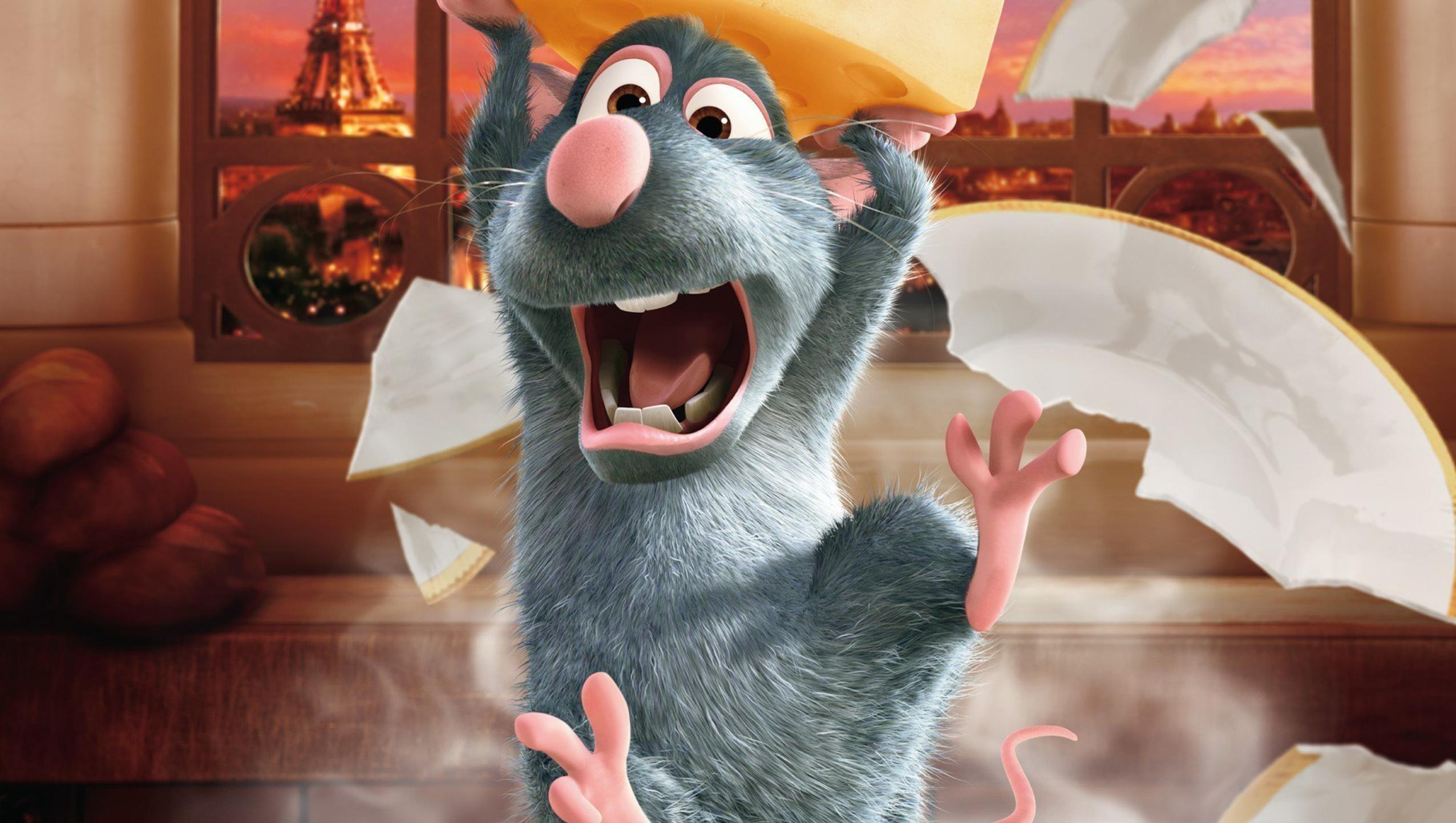 "Wallpaper for ""Ratatouille"" (2007)"