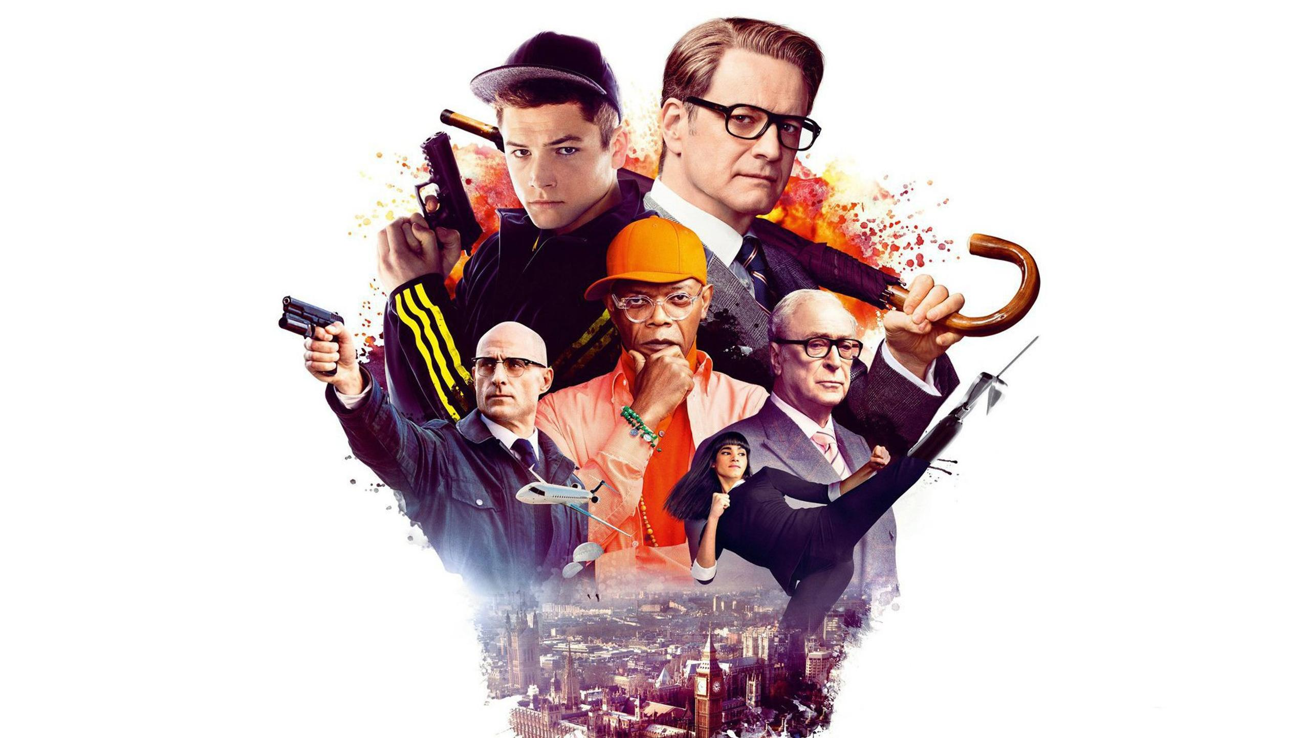 "Wallpaper for ""Kingsman: The Secret Service"" (2014)"