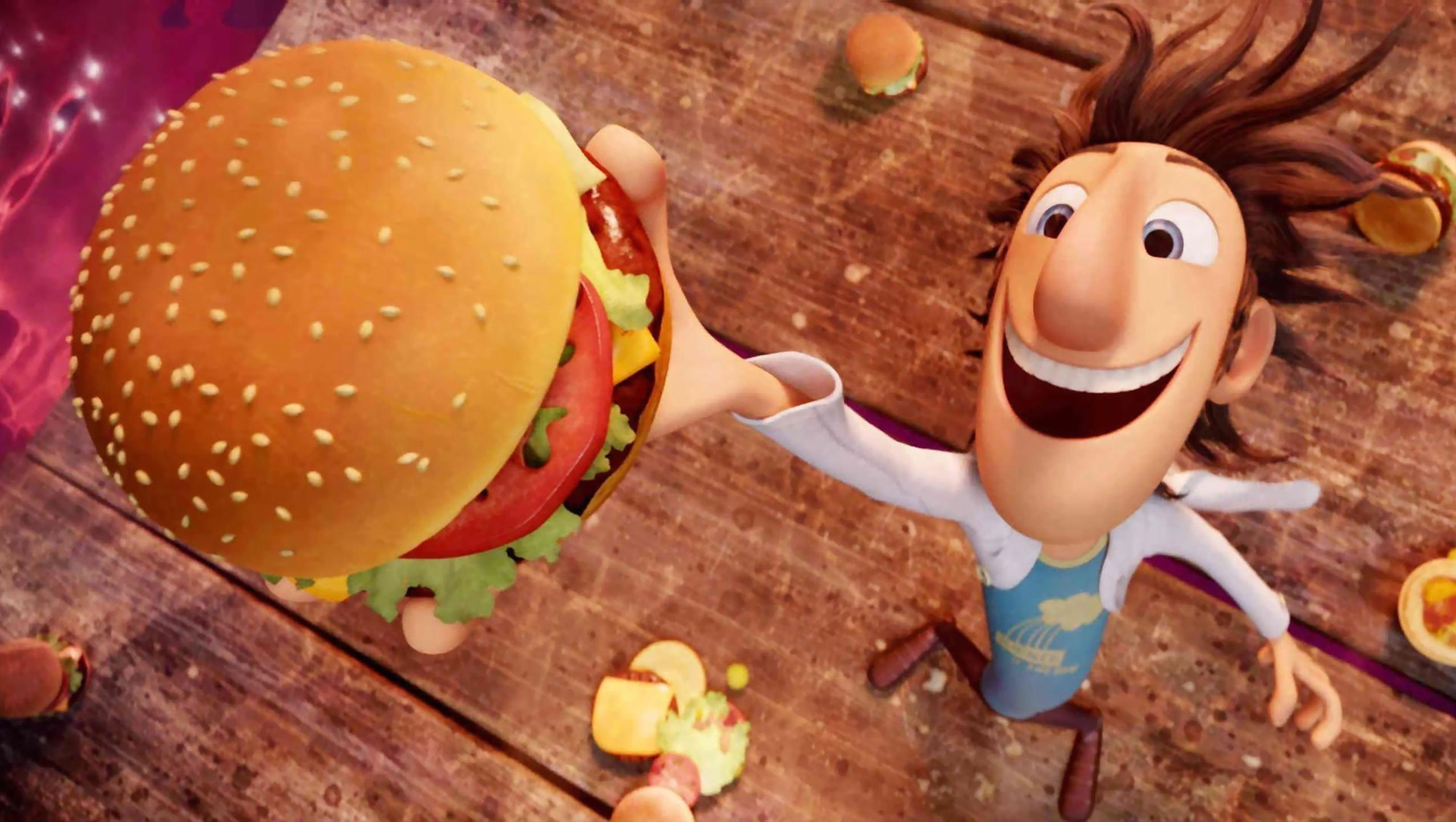 "Wallpaper for ""Cloudy with a Chance of Meatballs"" (2009)"