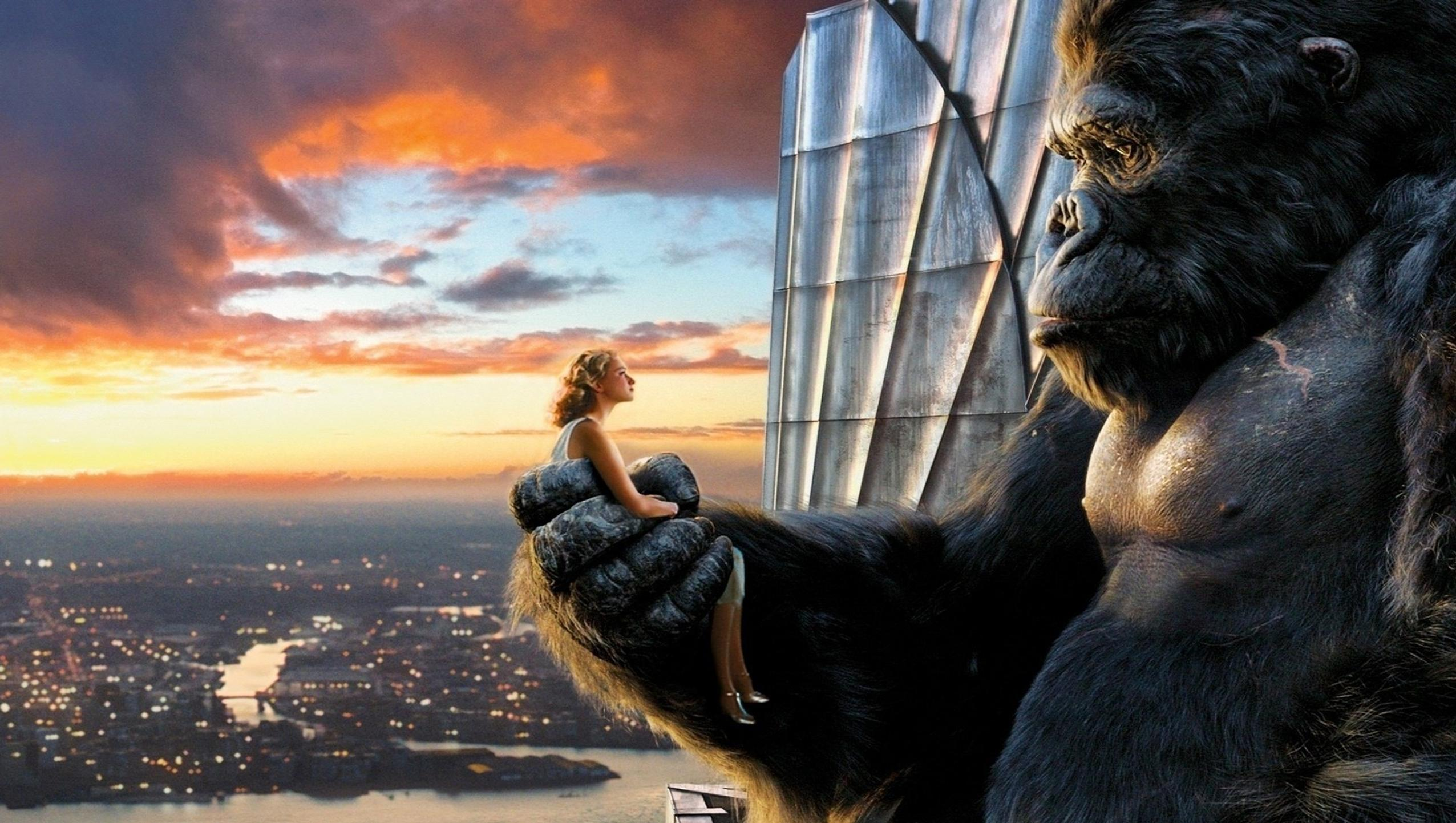 "Wallpaper for ""King Kong"" (2005)"