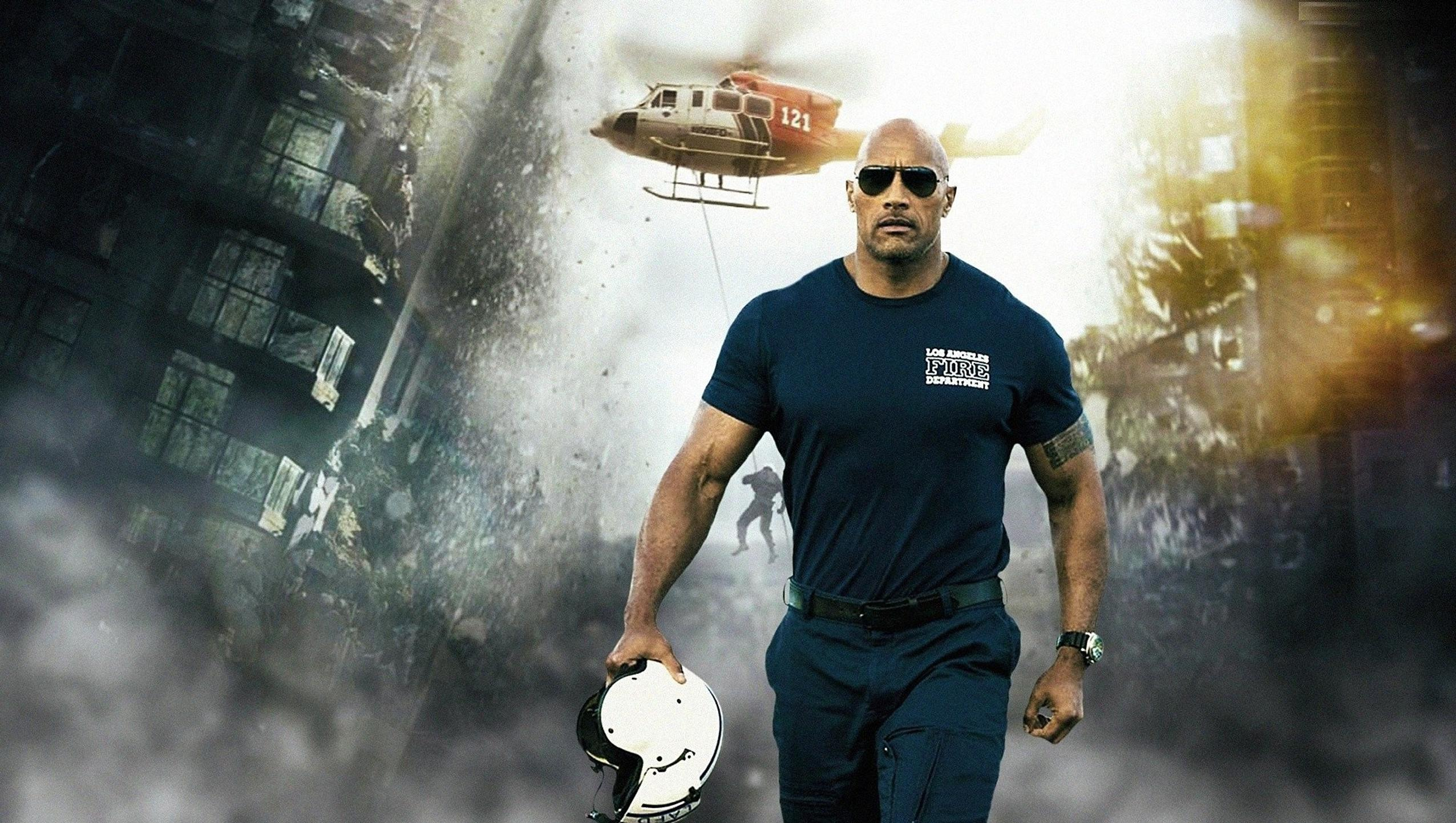 "Wallpaper for ""San Andreas"" (2015)"