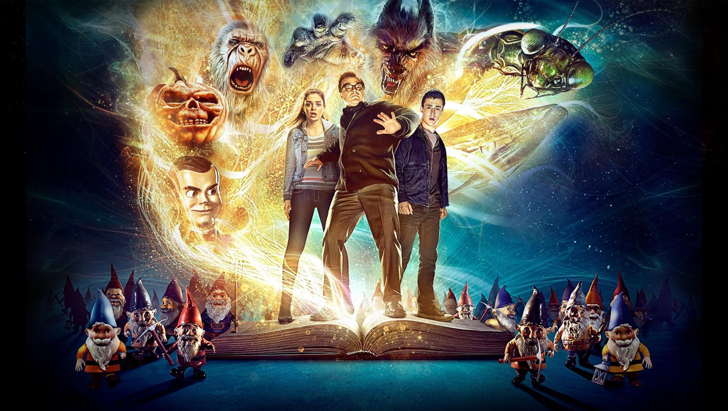 "Wallpaper for ""Goosebumps"" (2015)"
