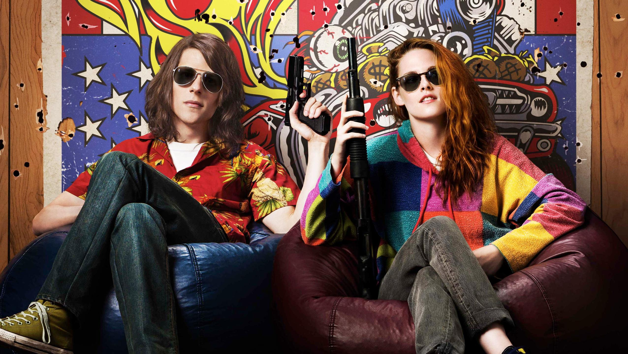 "Wallpaper for ""American Ultra"" (2015)"