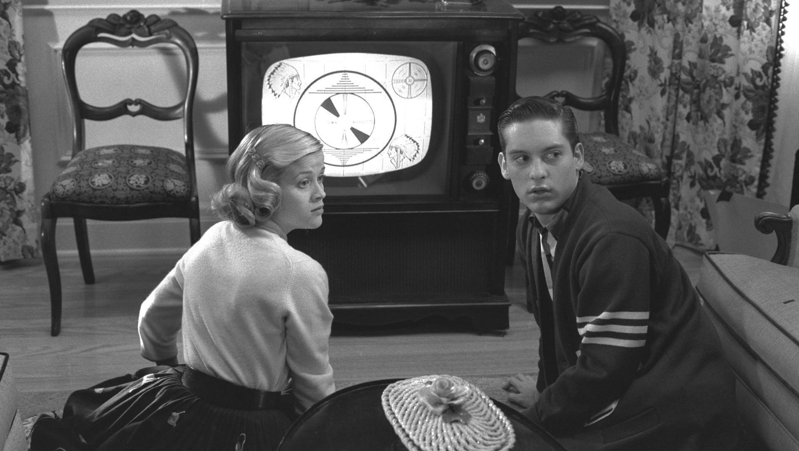 "Wallpaper for ""Pleasantville"" (1998)"