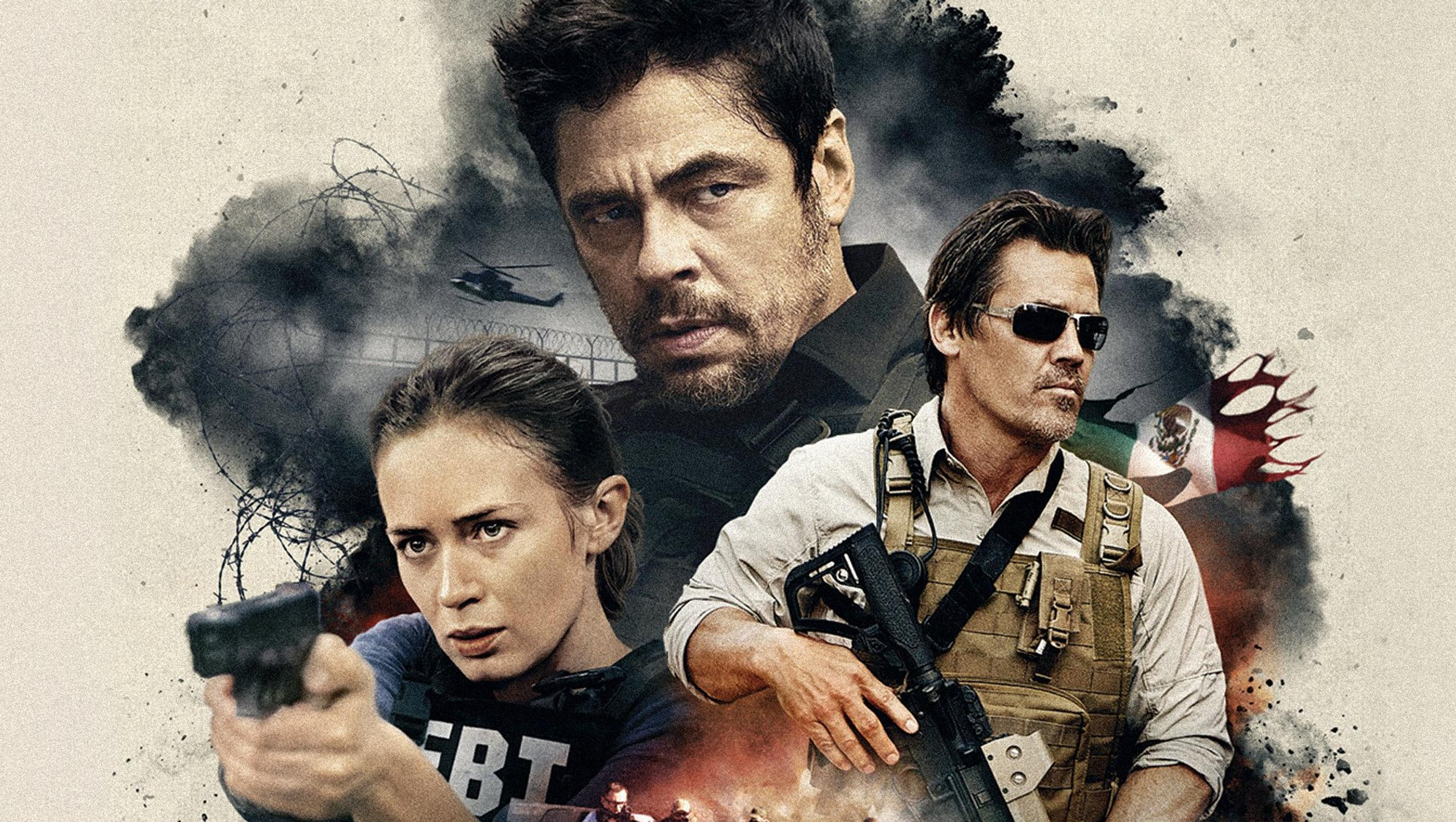 "Wallpaper for ""Sicario"" (2015)"