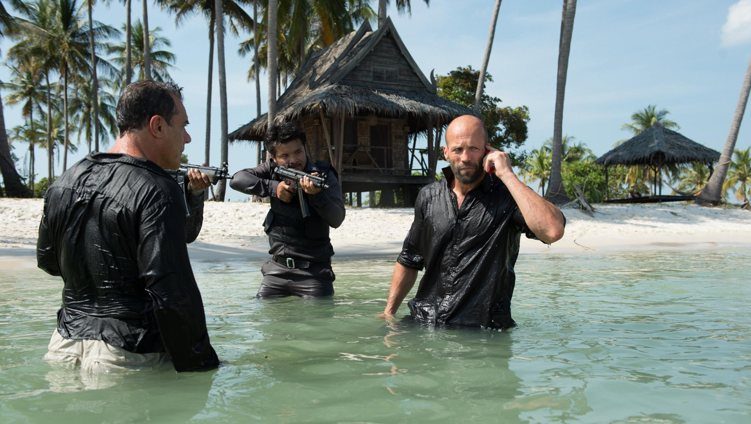 "Wallpaper for ""Mechanic: Resurrection"" (2016)"