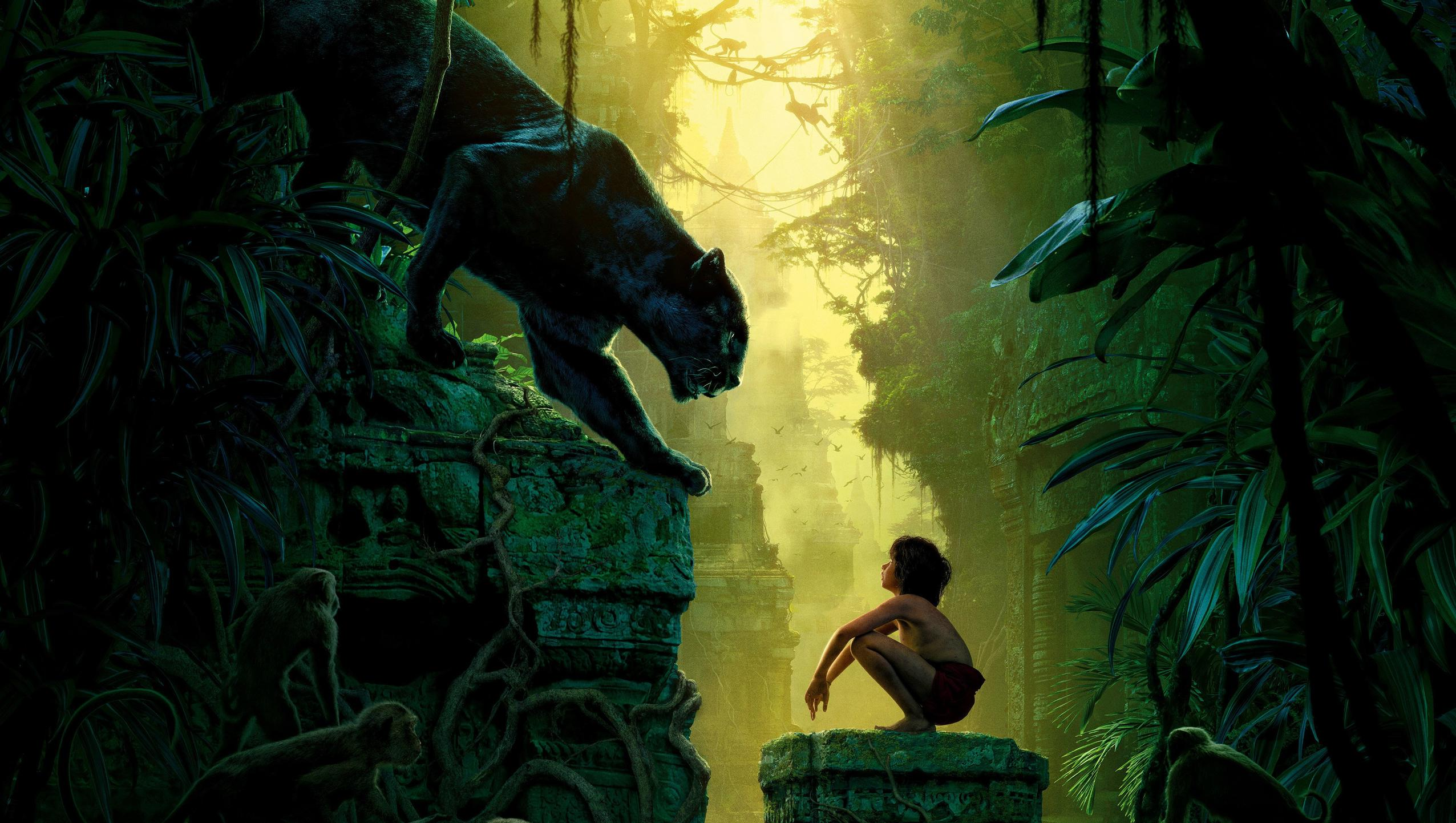 "Wallpaper for ""The Jungle Book"" (2016)"