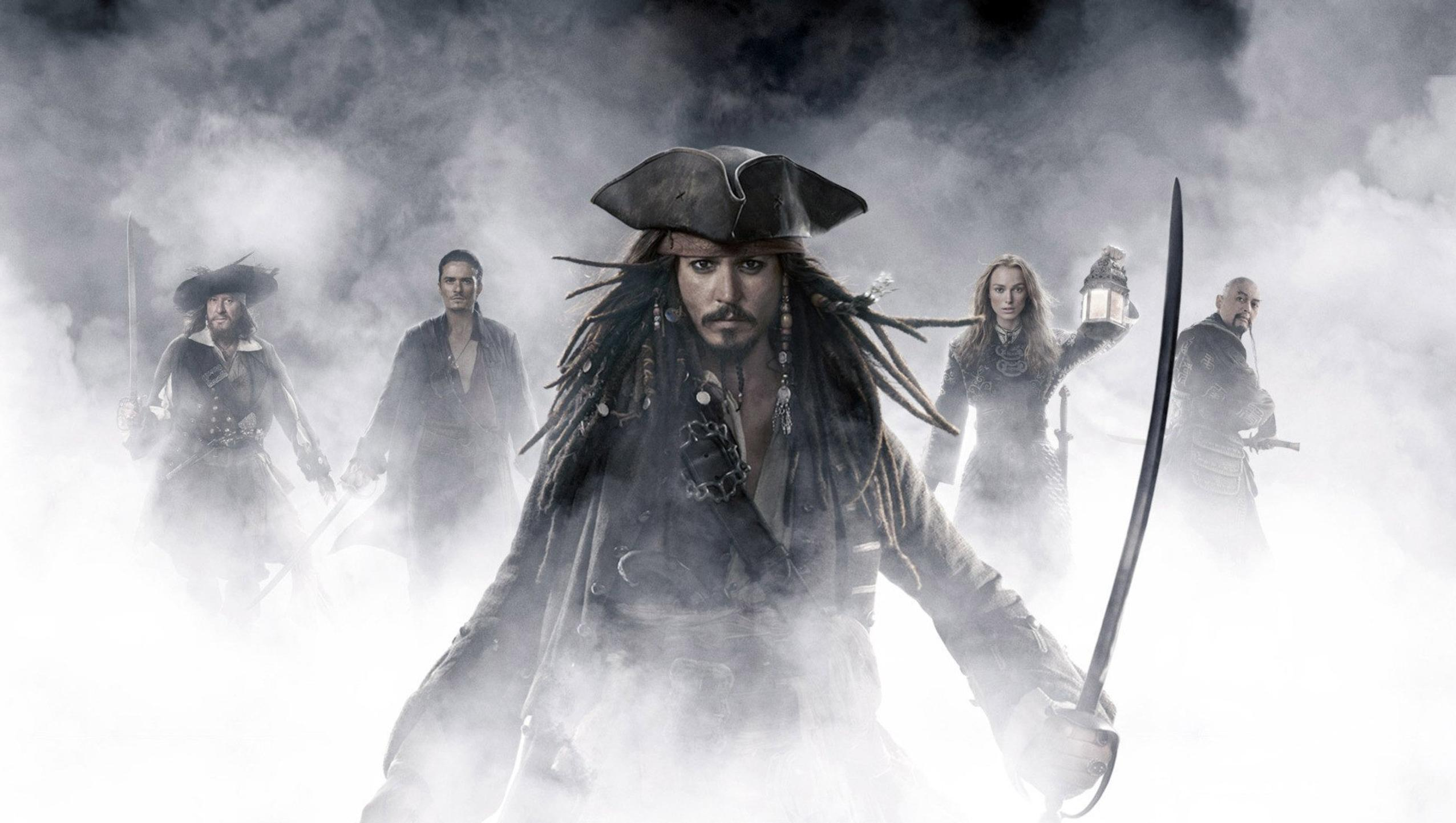 "Wallpaper for ""Pirates of the Caribbean: At World's End"" (2007)"