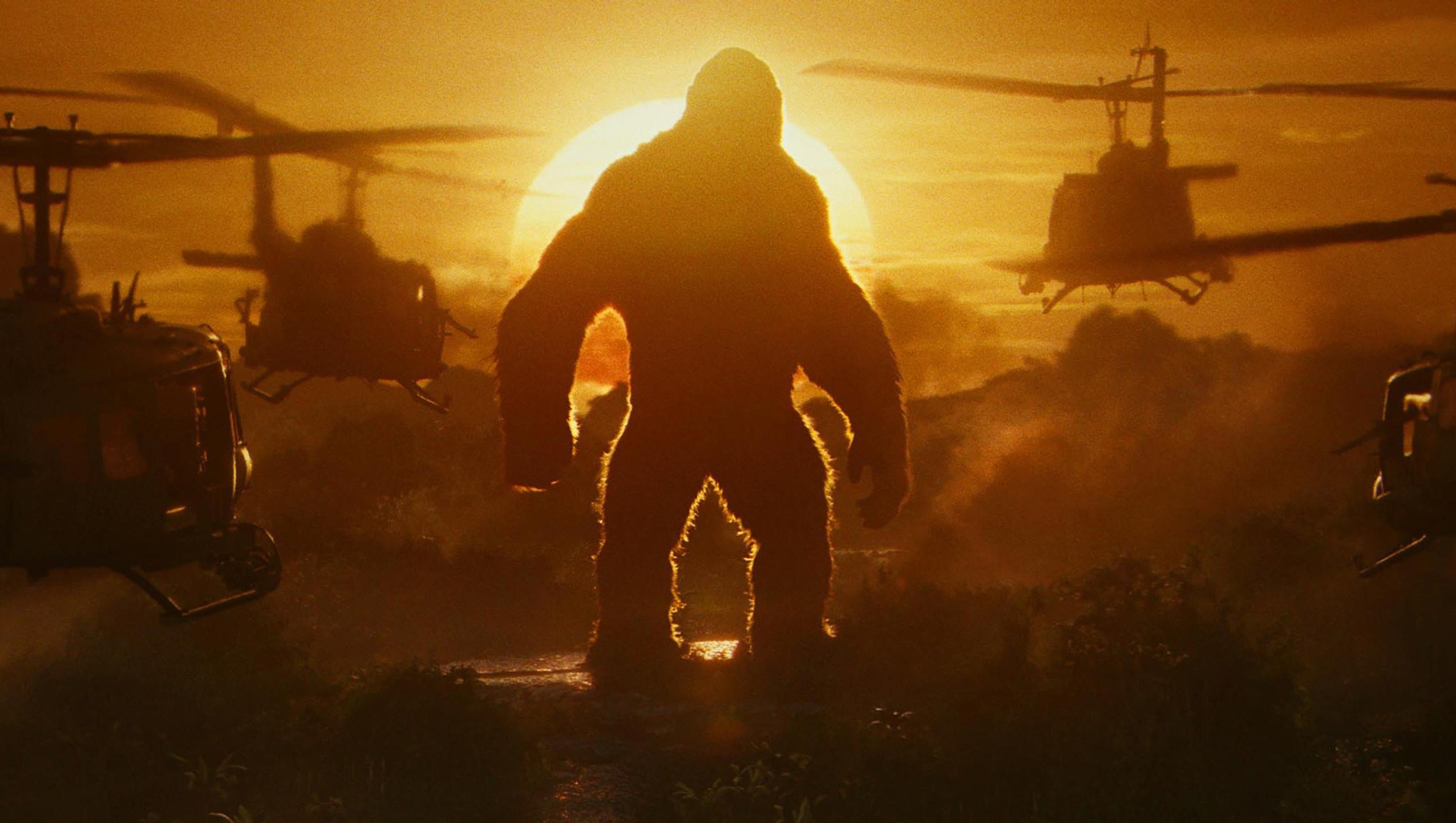 "Wallpaper for ""Kong: Skull Island"" (2017)"