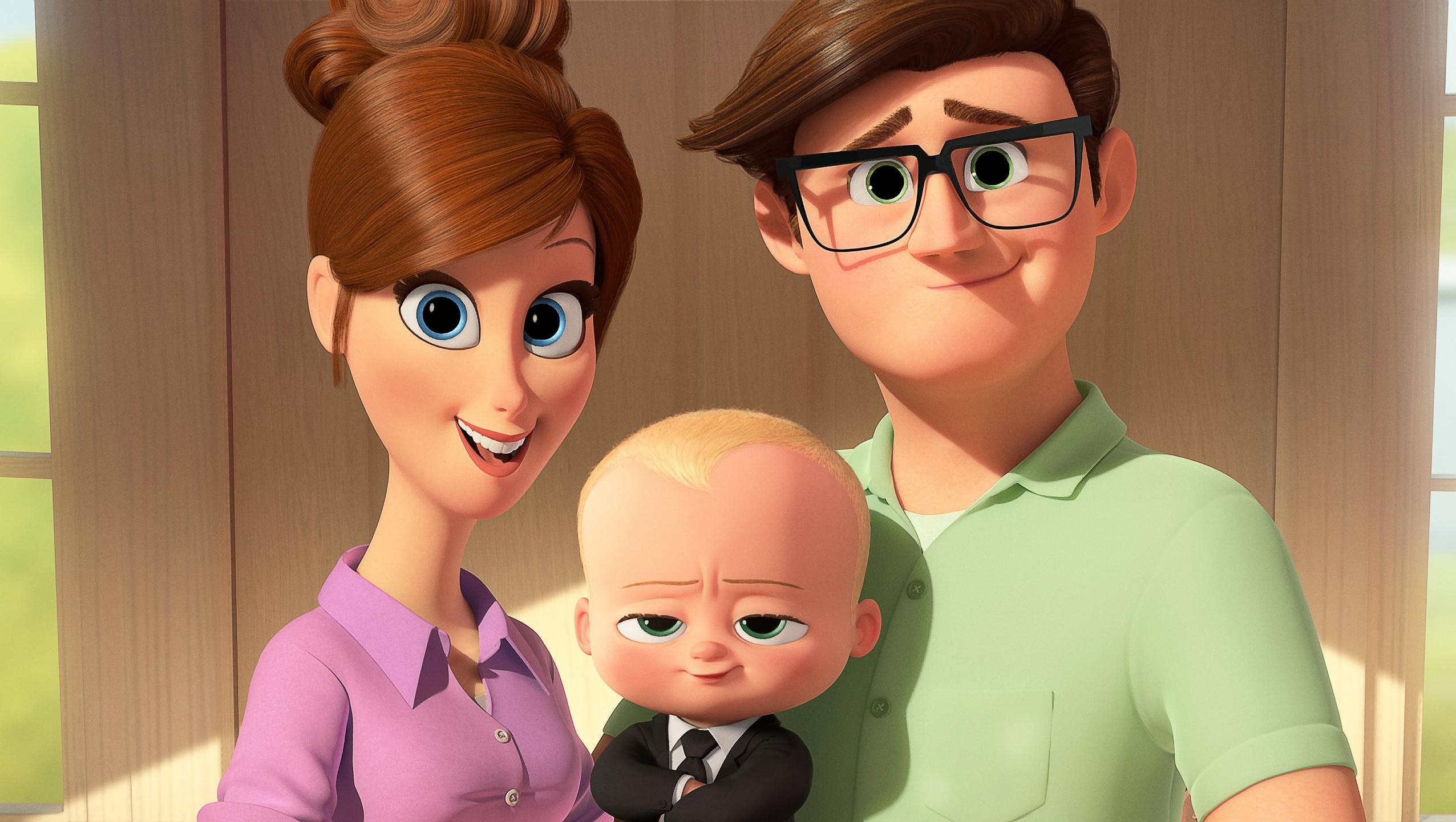"Wallpaper for ""The Boss Baby"" (2017)"