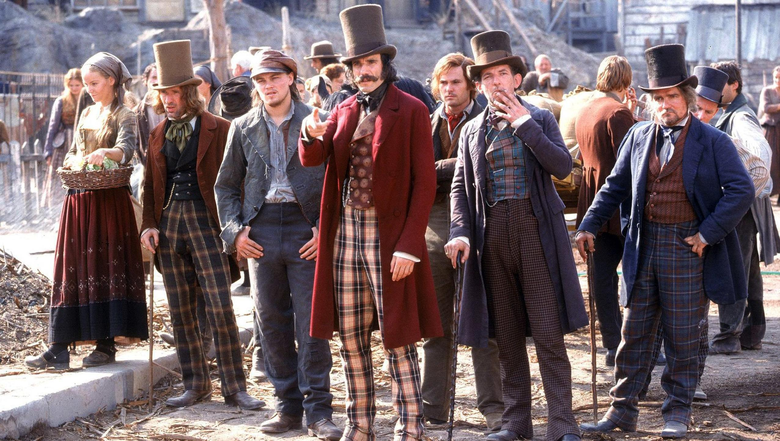 "Wallpaper for ""Gangs of New York"" (2002)"