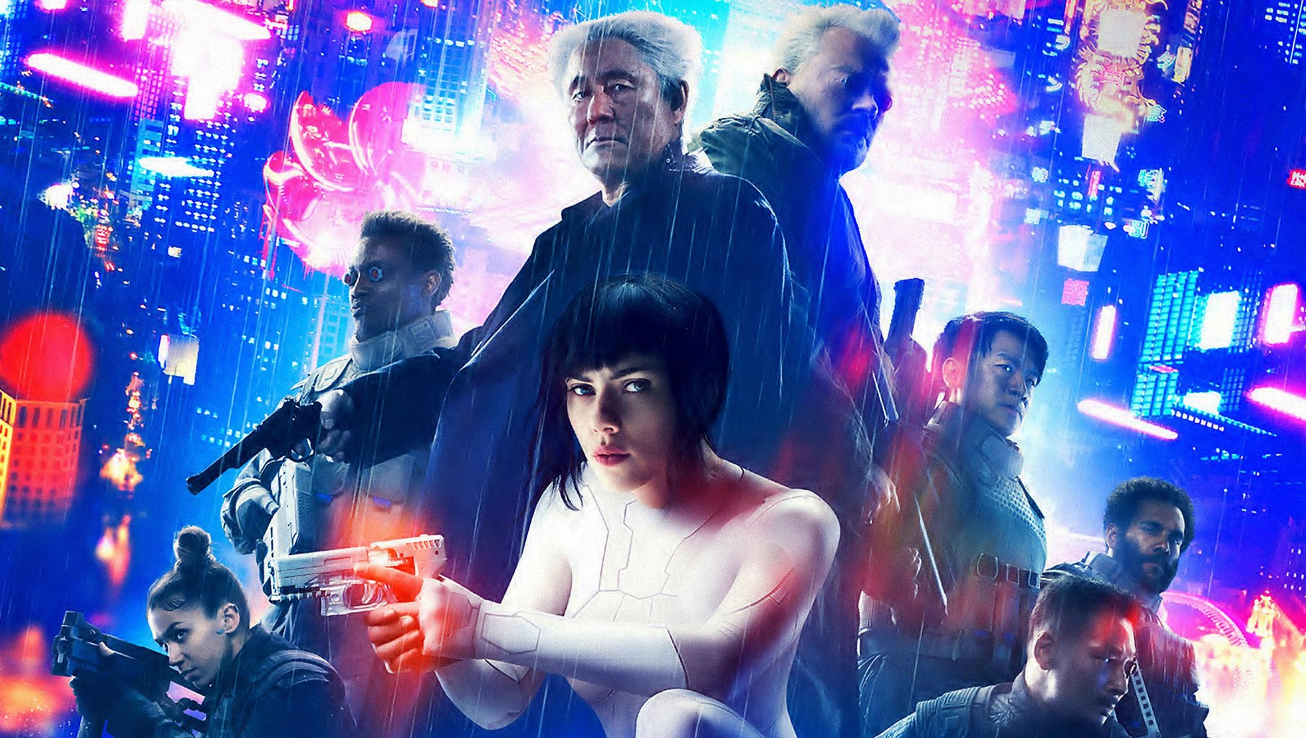 "Wallpaper for ""Ghost in the Shell"" (2017)"