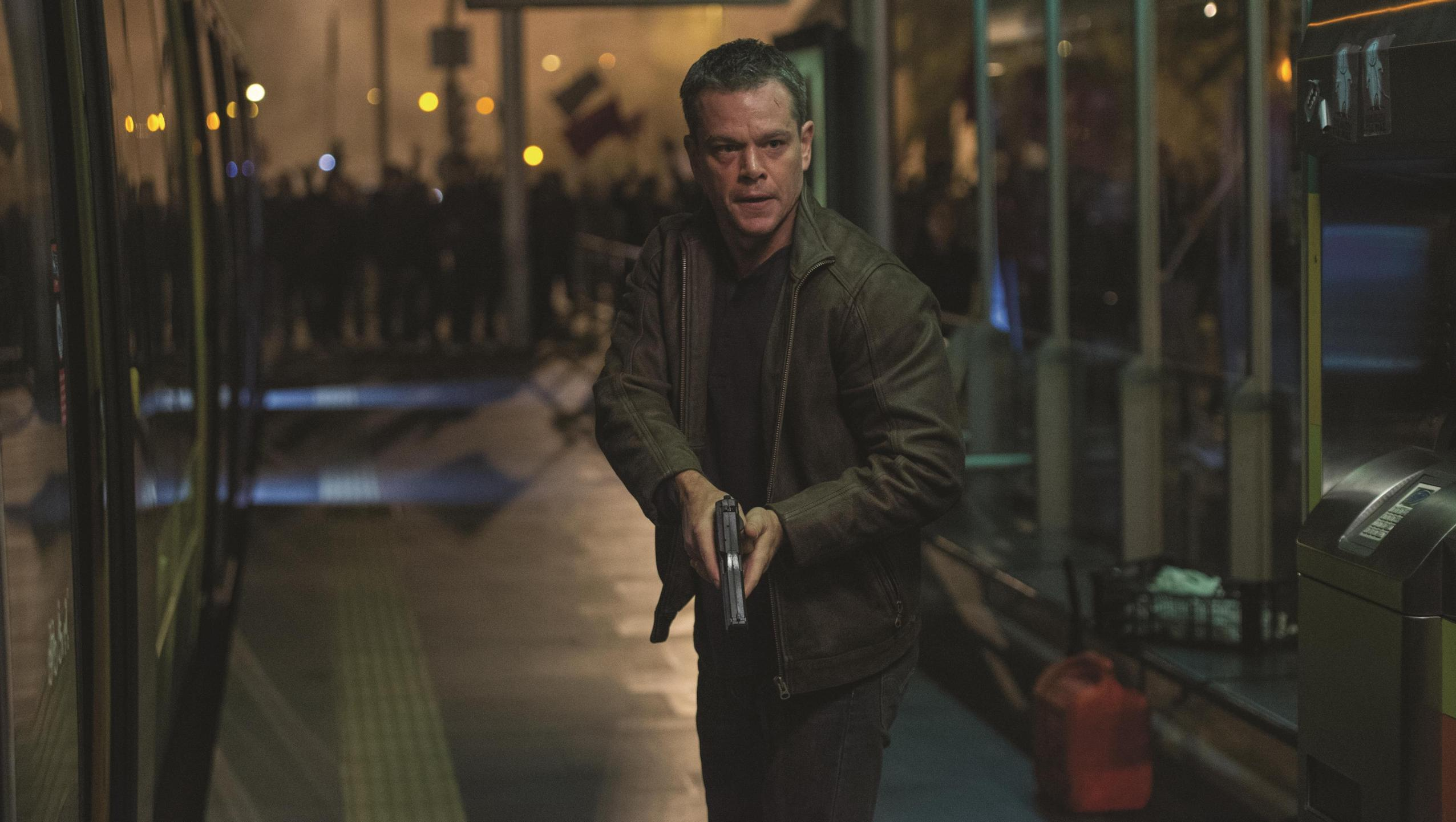 "Wallpaper for ""Jason Bourne"" (2016)"