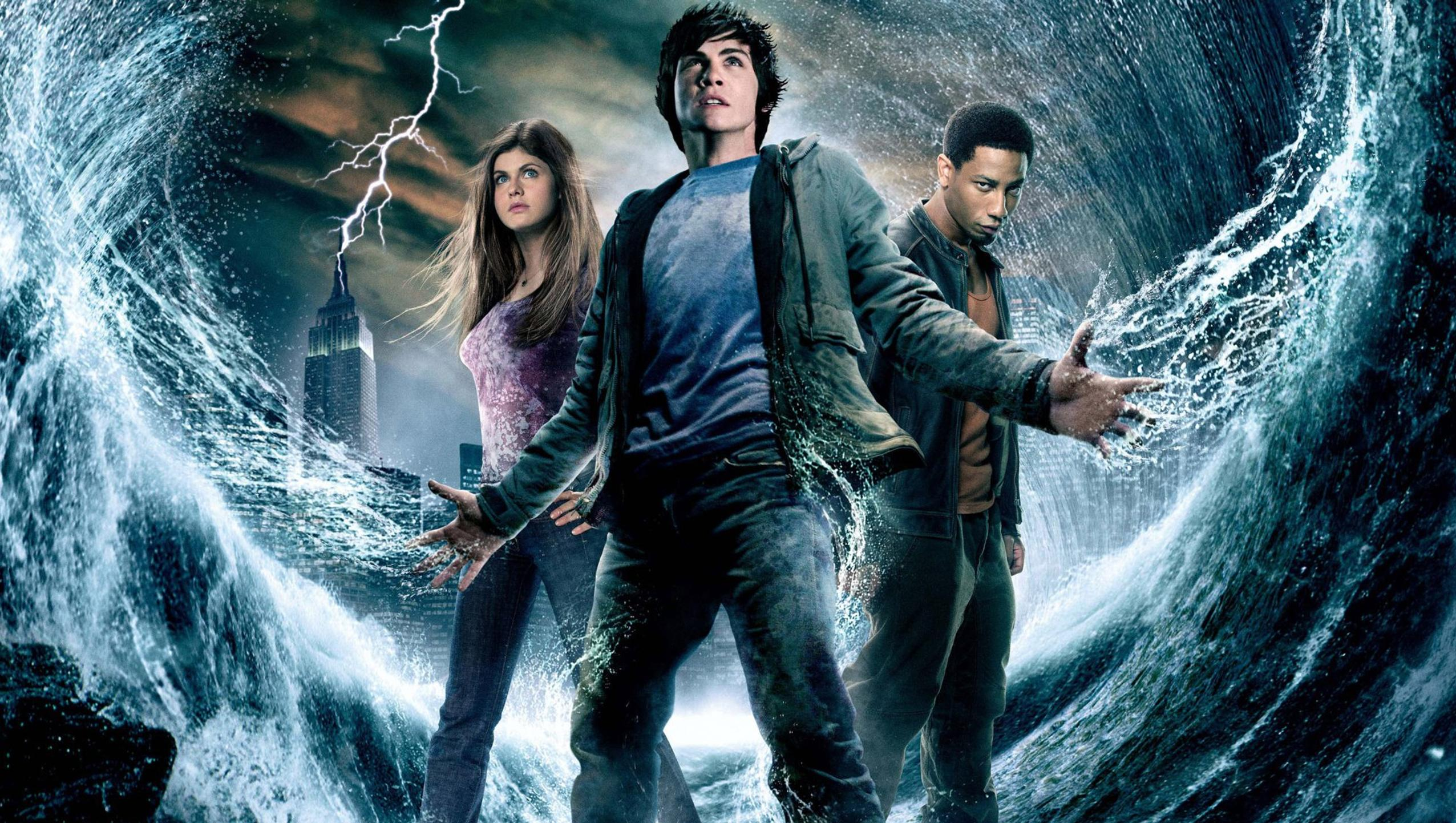 "Wallpaper for ""Percy Jackson & the Olympians: The Lightning Thief"" (2010)"