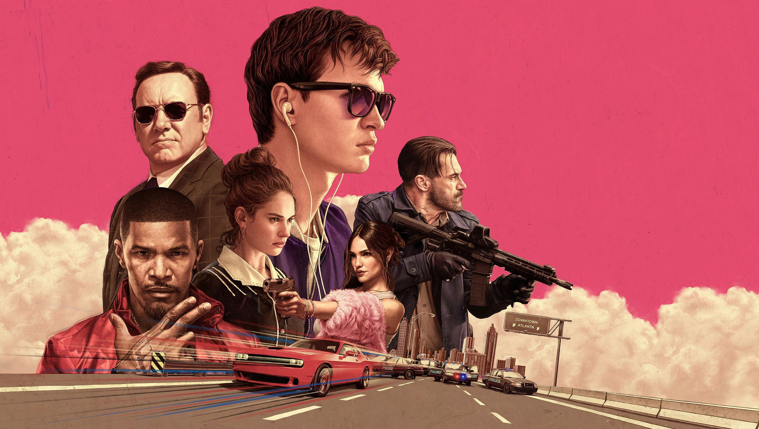 "Wallpaper for ""Baby Driver"" (2017)"