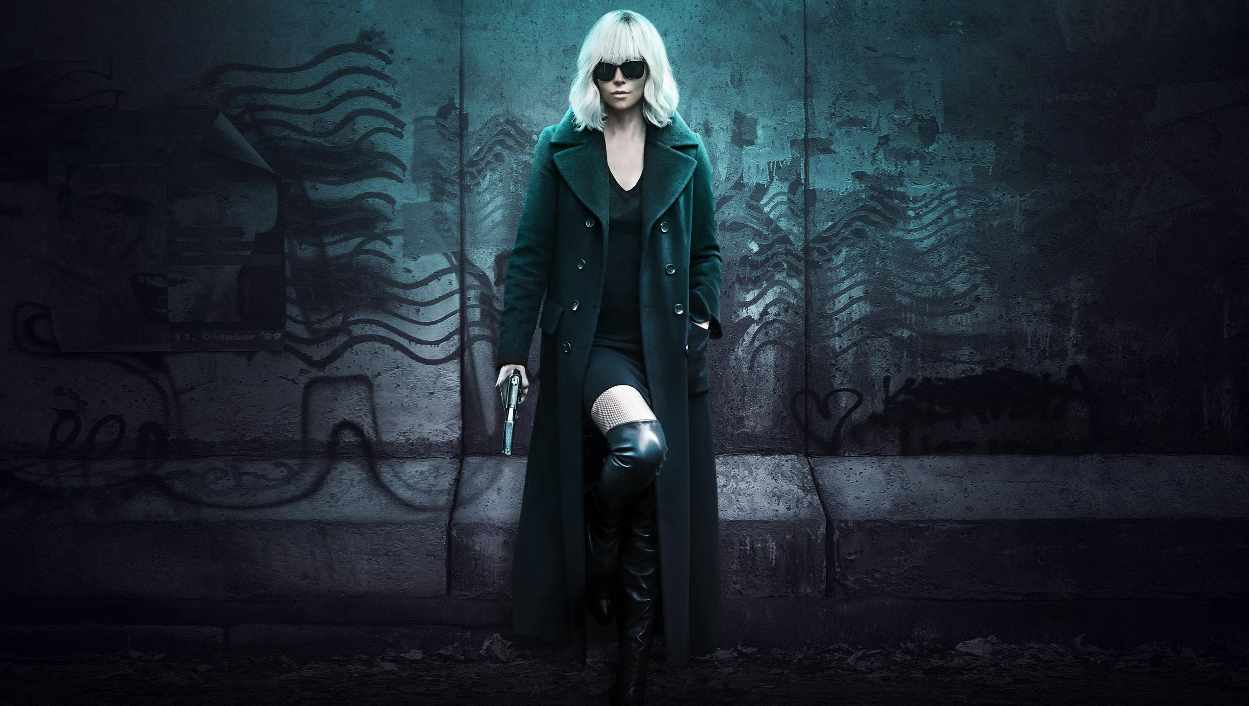 "Wallpaper for ""Atomic Blonde"" (2017)"